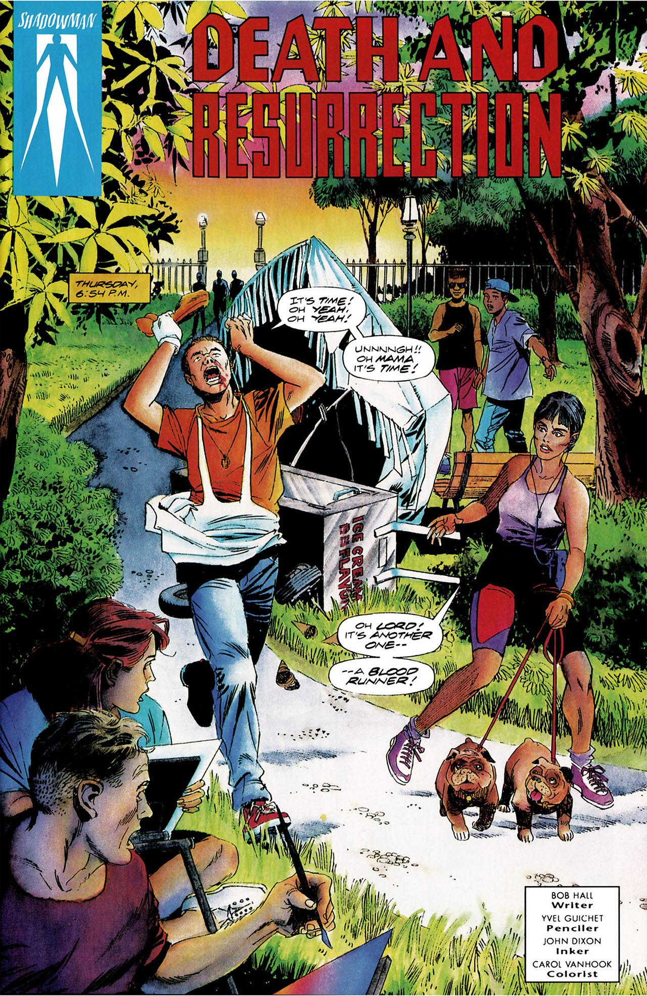 Read online Shadowman (1992) comic -  Issue #8 - 2