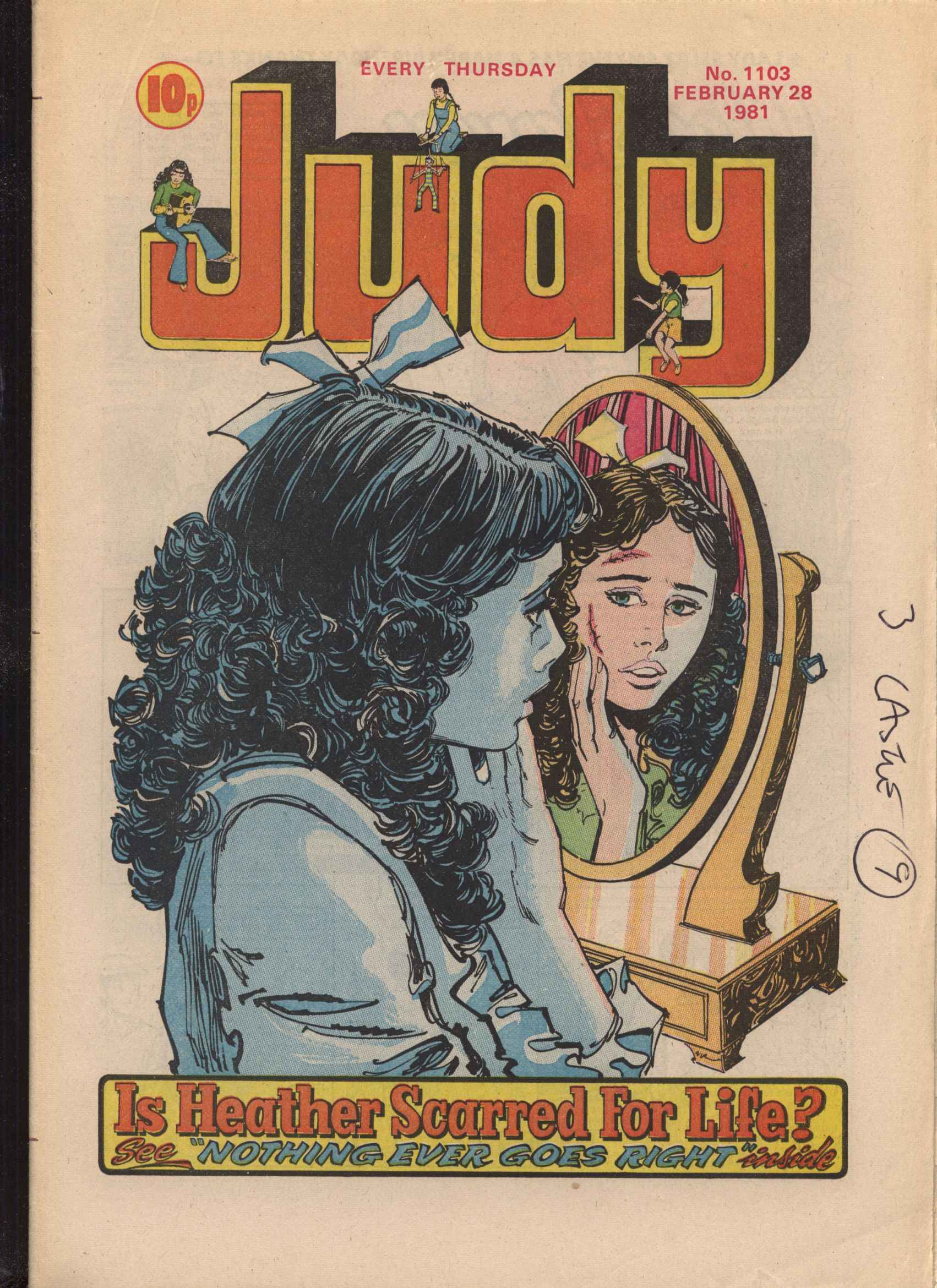 Read online Judy comic -  Issue #1103 - 1
