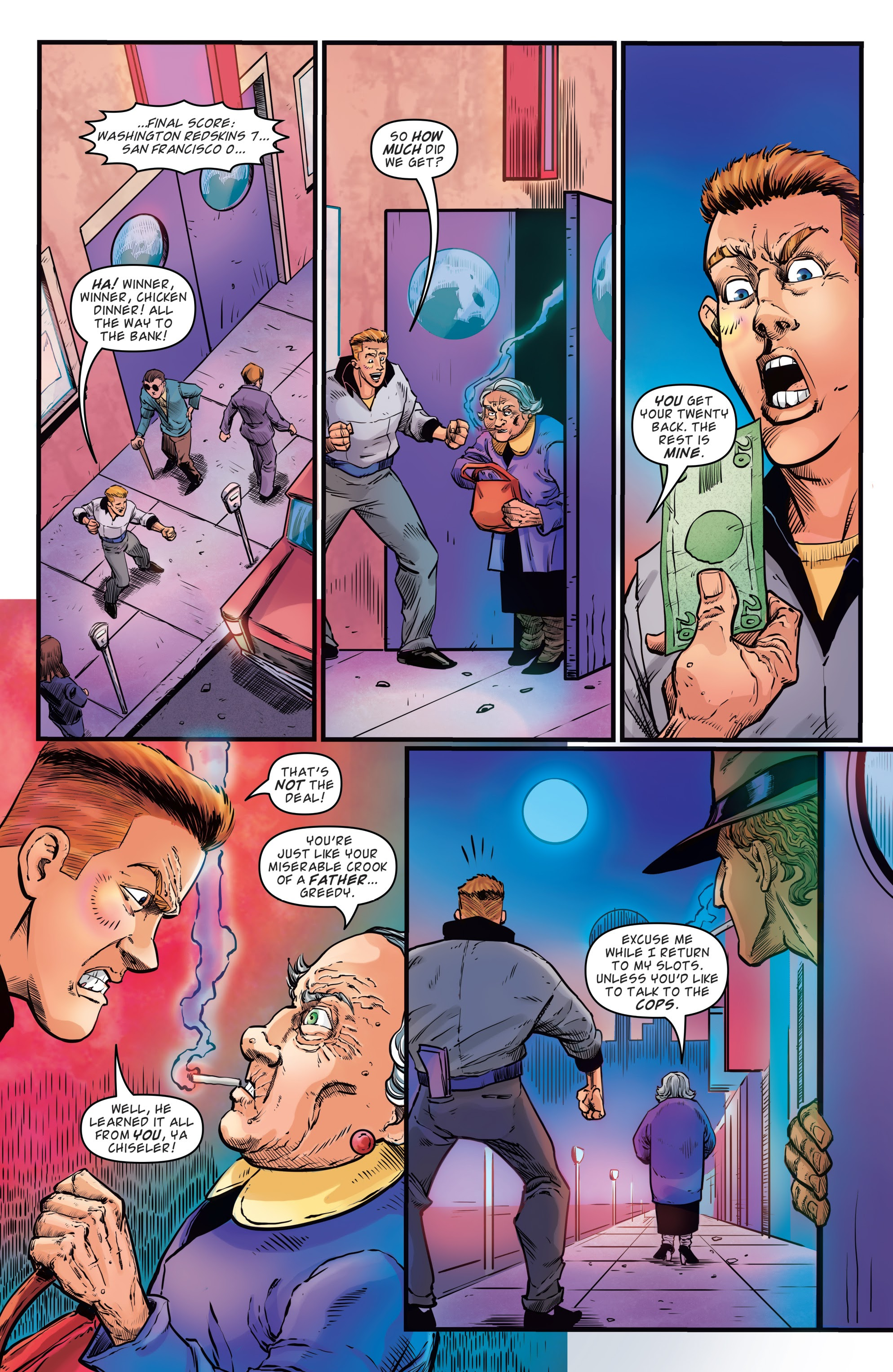 Read online Back to the Future: Biff to the Future comic -  Issue #1 - 9