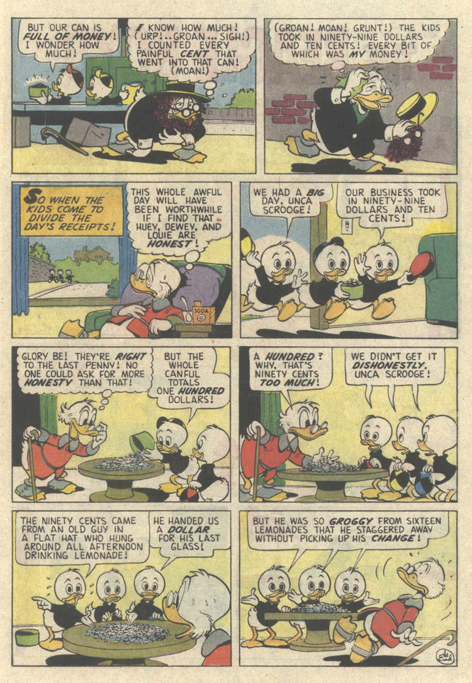 Read online Uncle Scrooge (1953) comic -  Issue #225 - 17