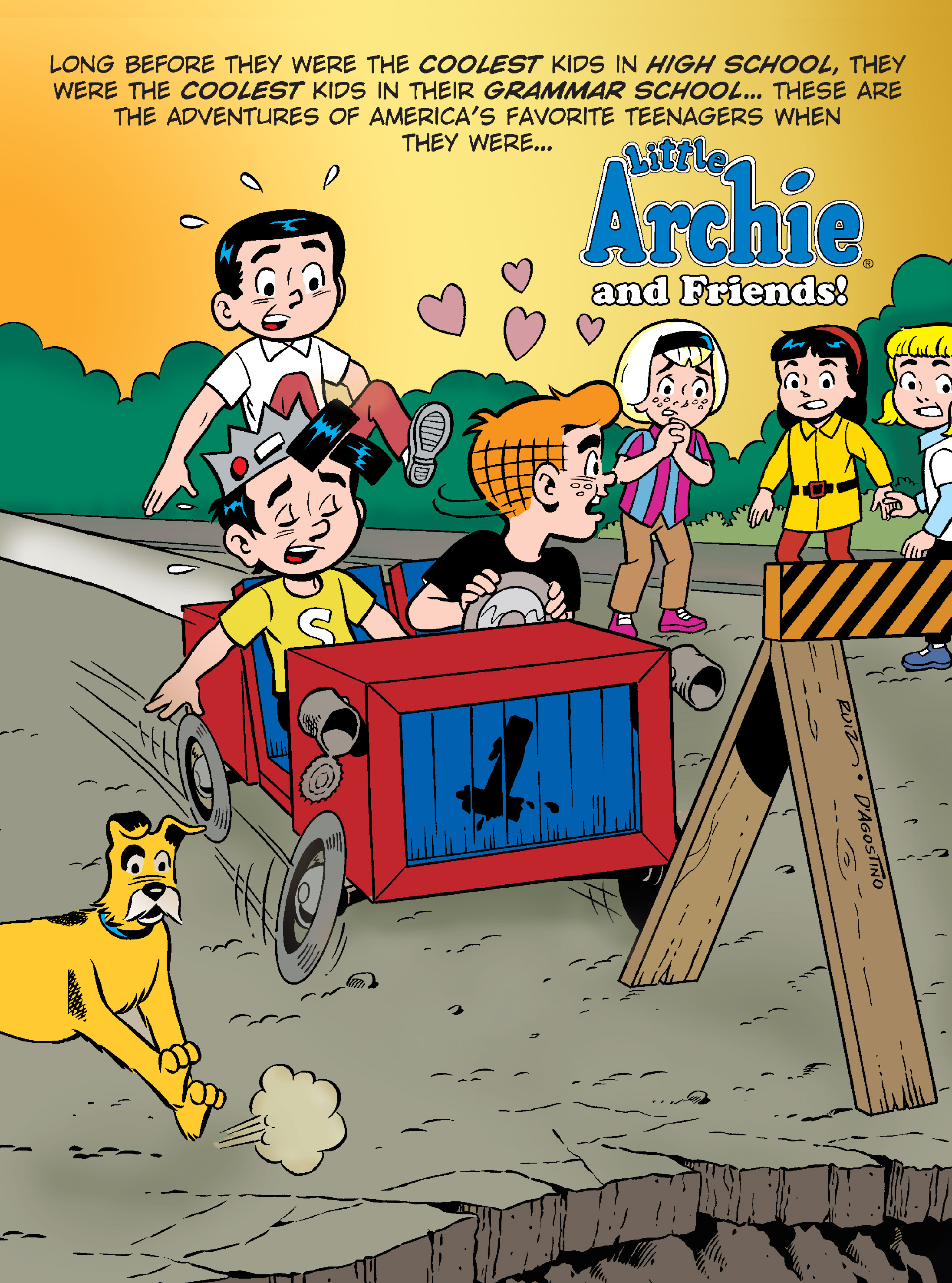 Read online Archie's Funhouse Double Digest comic -  Issue #7 - 128