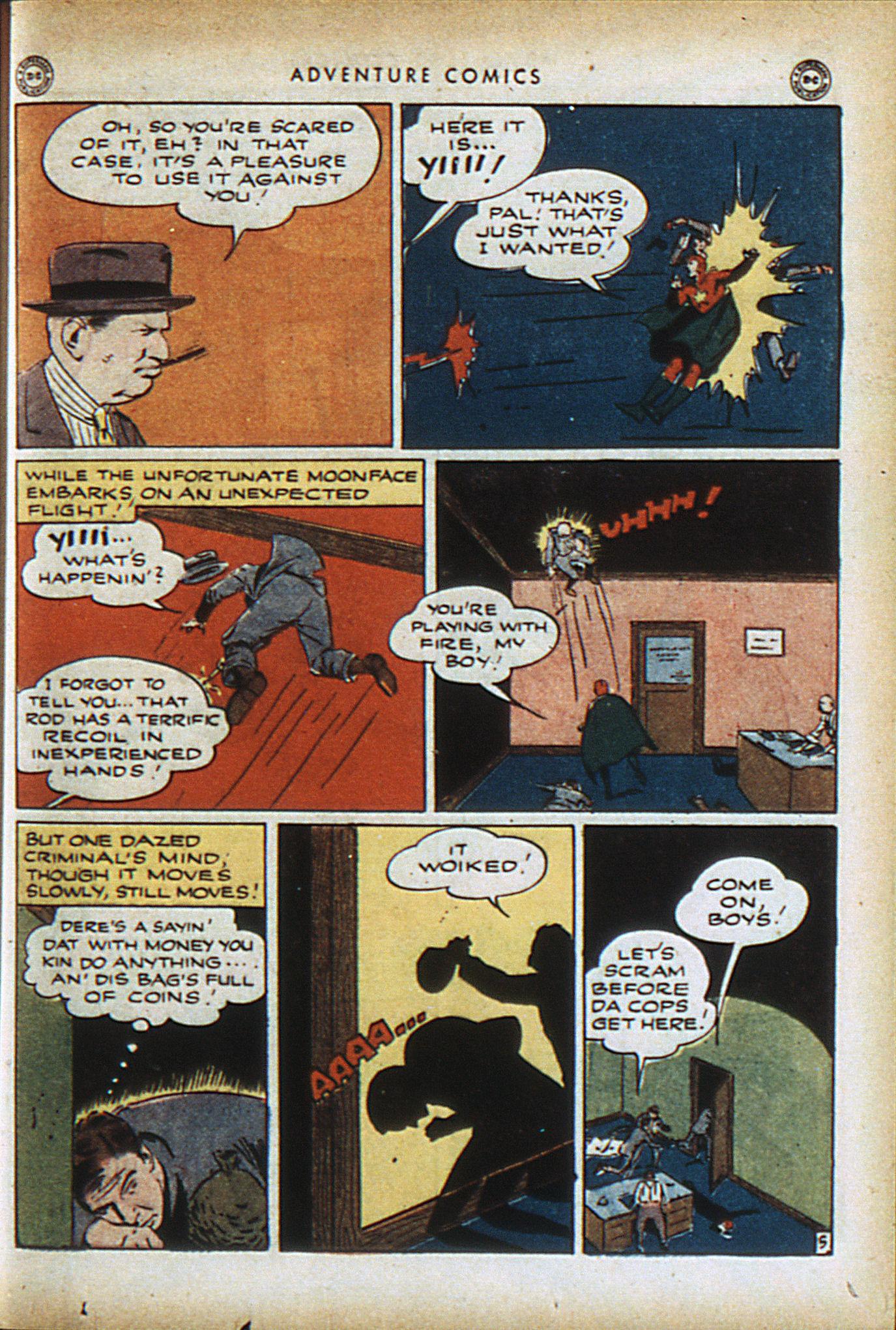 Read online Adventure Comics (1938) comic -  Issue #96 - 38
