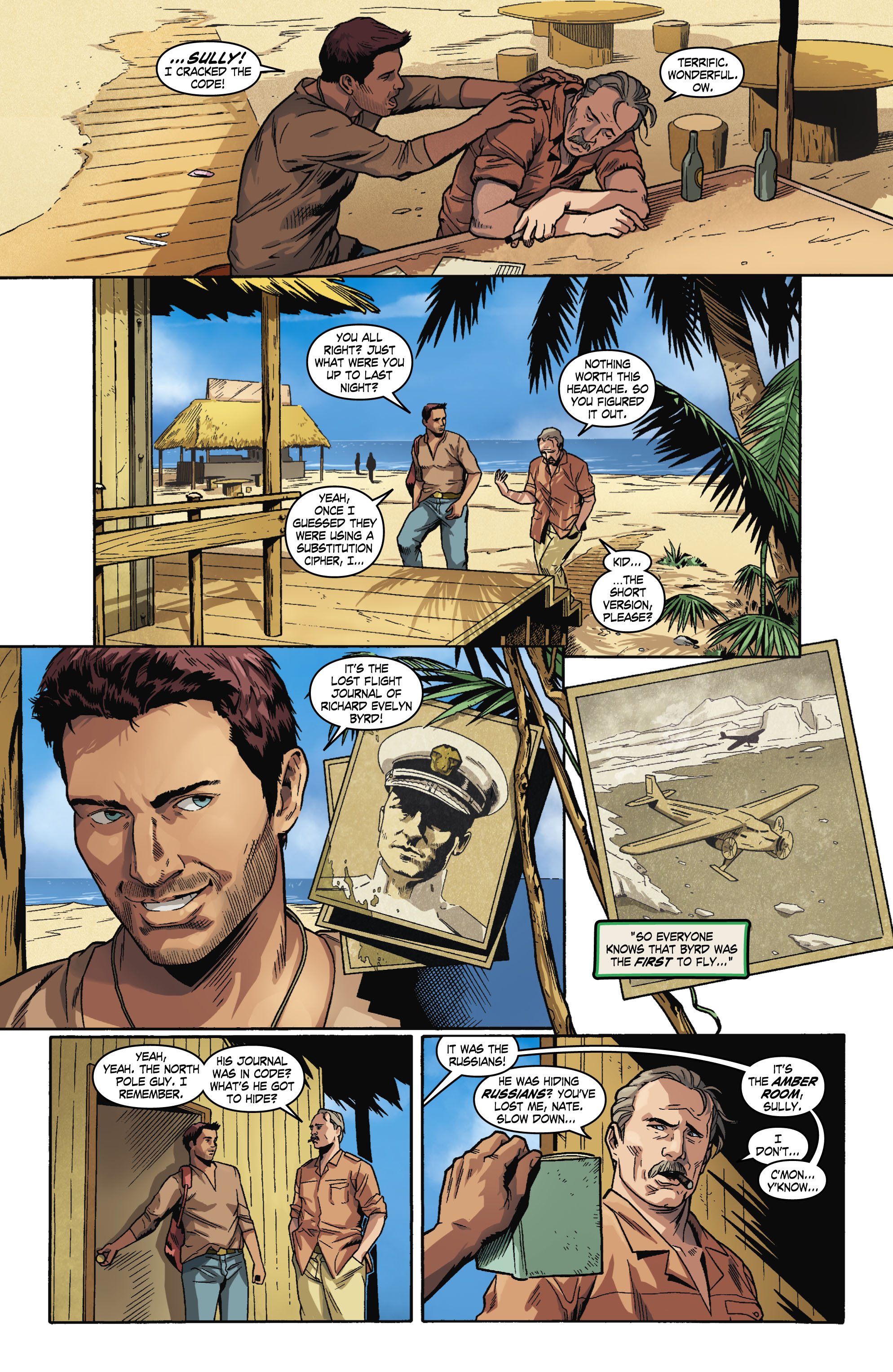 Read online Uncharted comic -  Issue #1 - 11