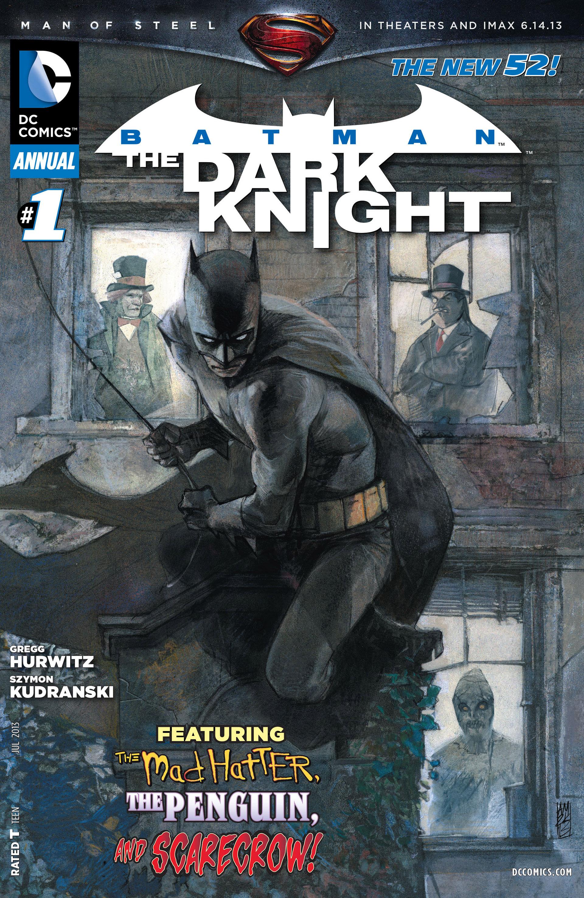 Batman: The Dark Knight [II] (2011) Annual_1 Page 1