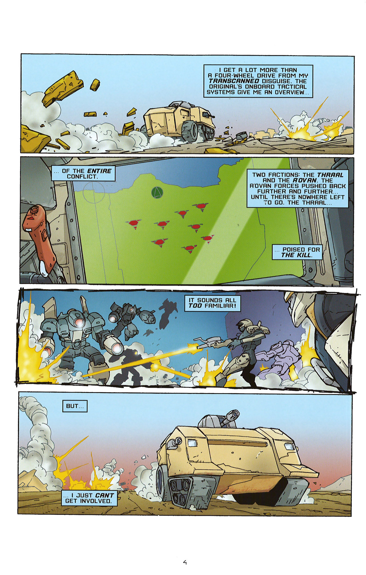 Read online Transformers: Saga of the Allspark comic -  Issue #2 - 7
