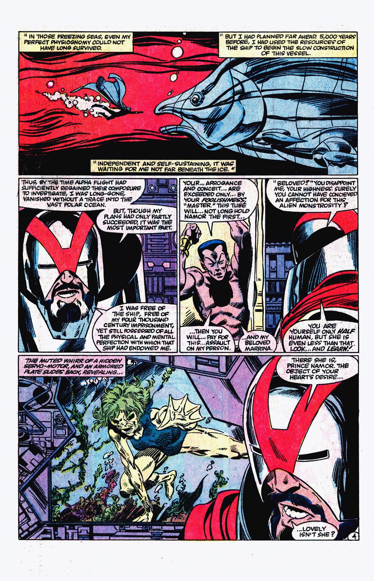 Read online Alpha Flight (1983) comic -  Issue #16 - 5