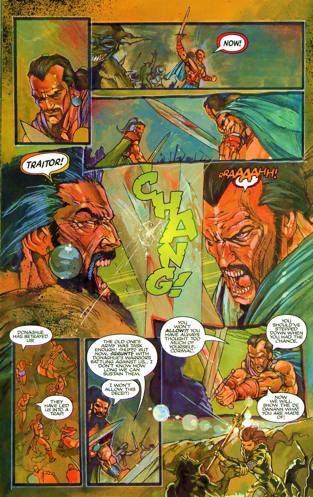 More Than Mortal: Sagas issue 3 - Page 22