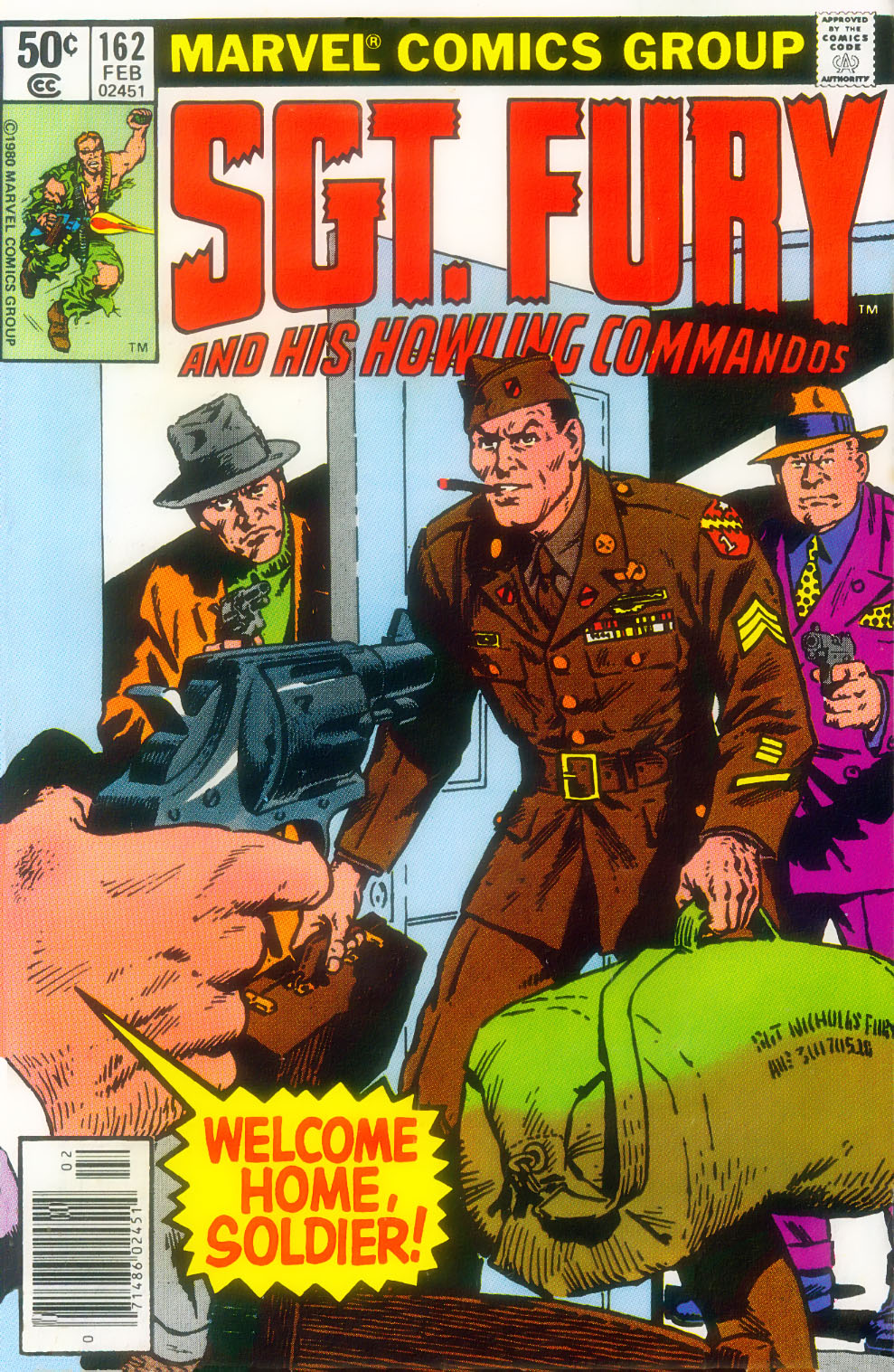 Read online Sgt. Fury comic -  Issue #162 - 1