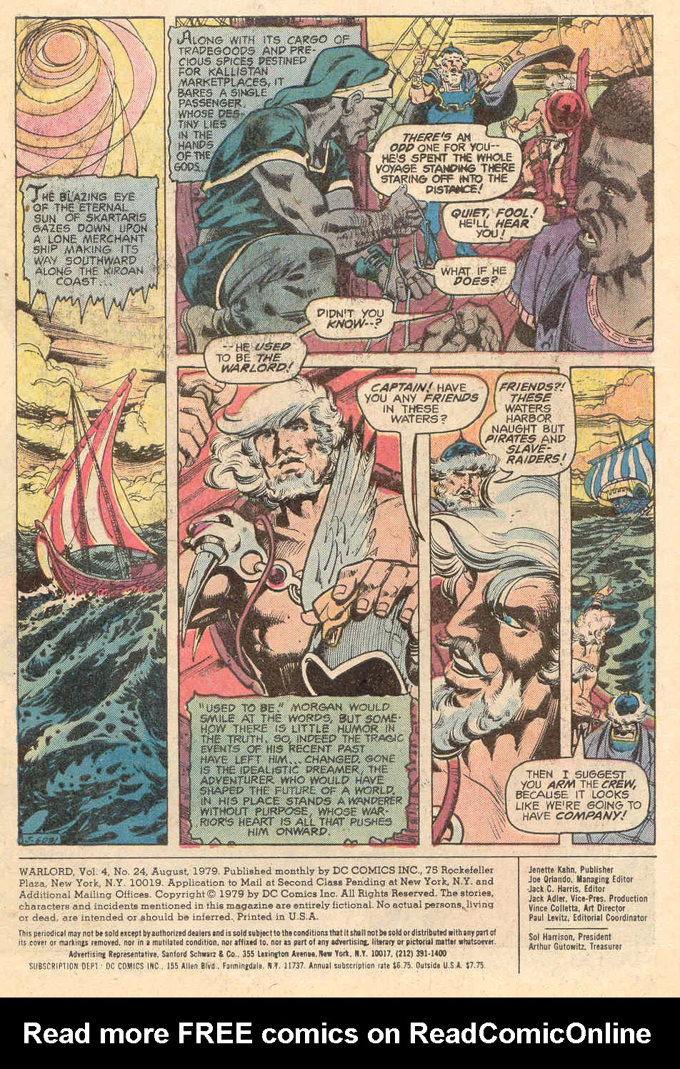 Warlord (1976) issue 24 - Page 2