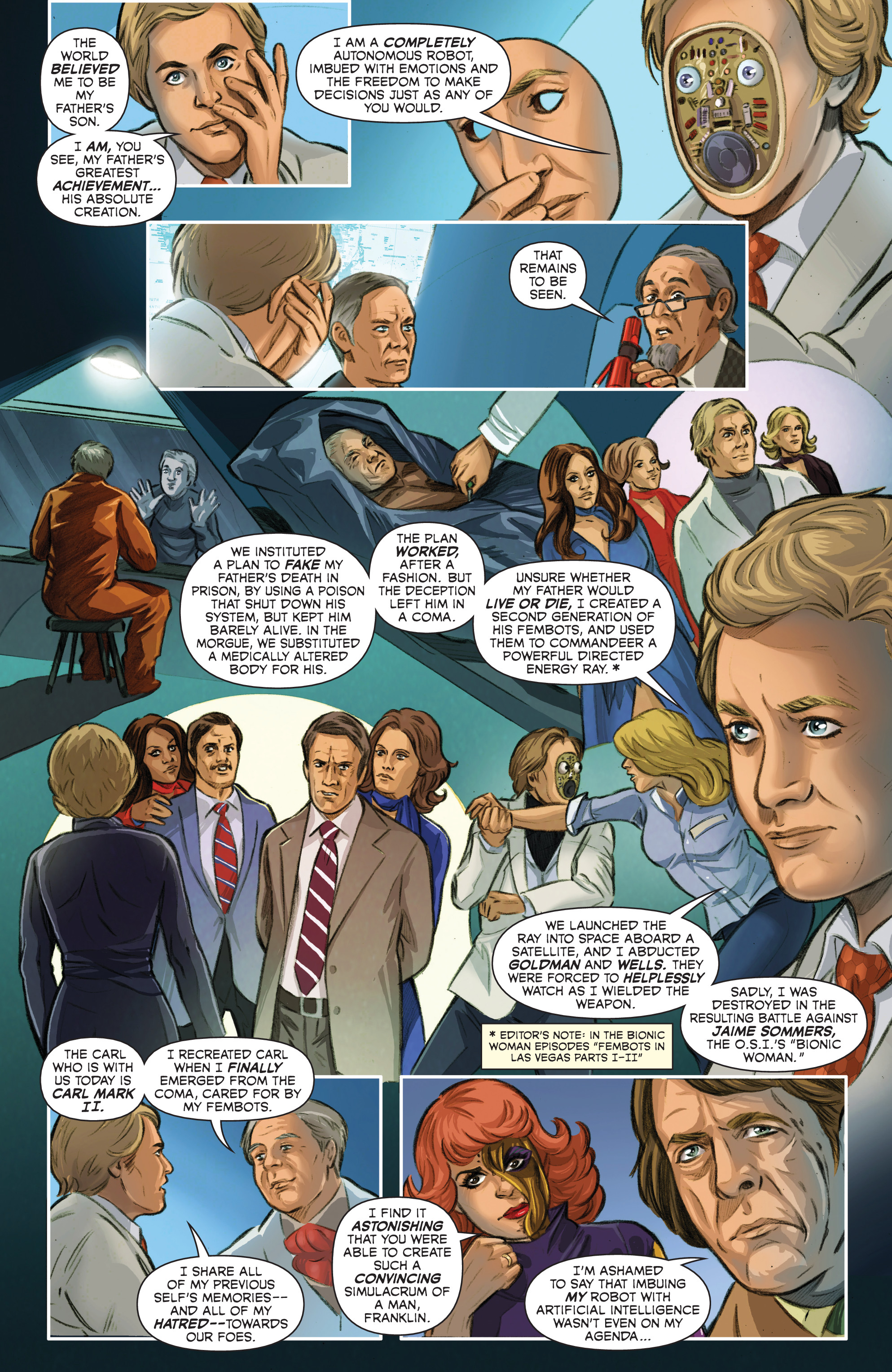 Read online Wonder Woman '77 Meets The Bionic Woman comic -  Issue #3 - 12