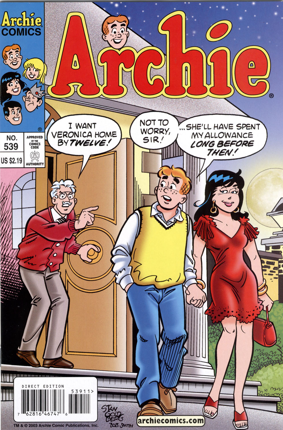Read online Archie (1960) comic -  Issue #539 - 1
