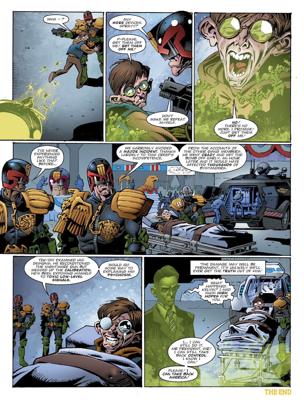 Read online 2000 AD comic -  Issue #2032 - 8