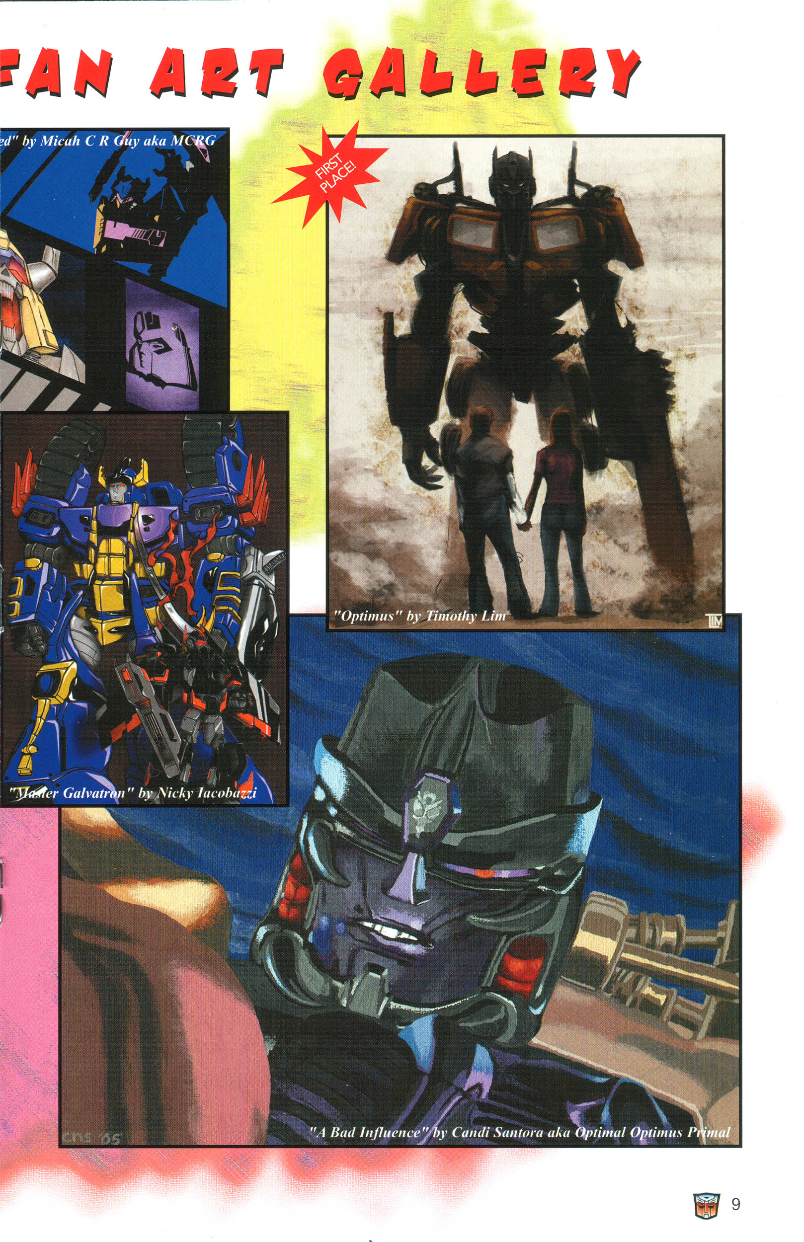 Read online Transformers: Collectors' Club comic -  Issue #12 - 9