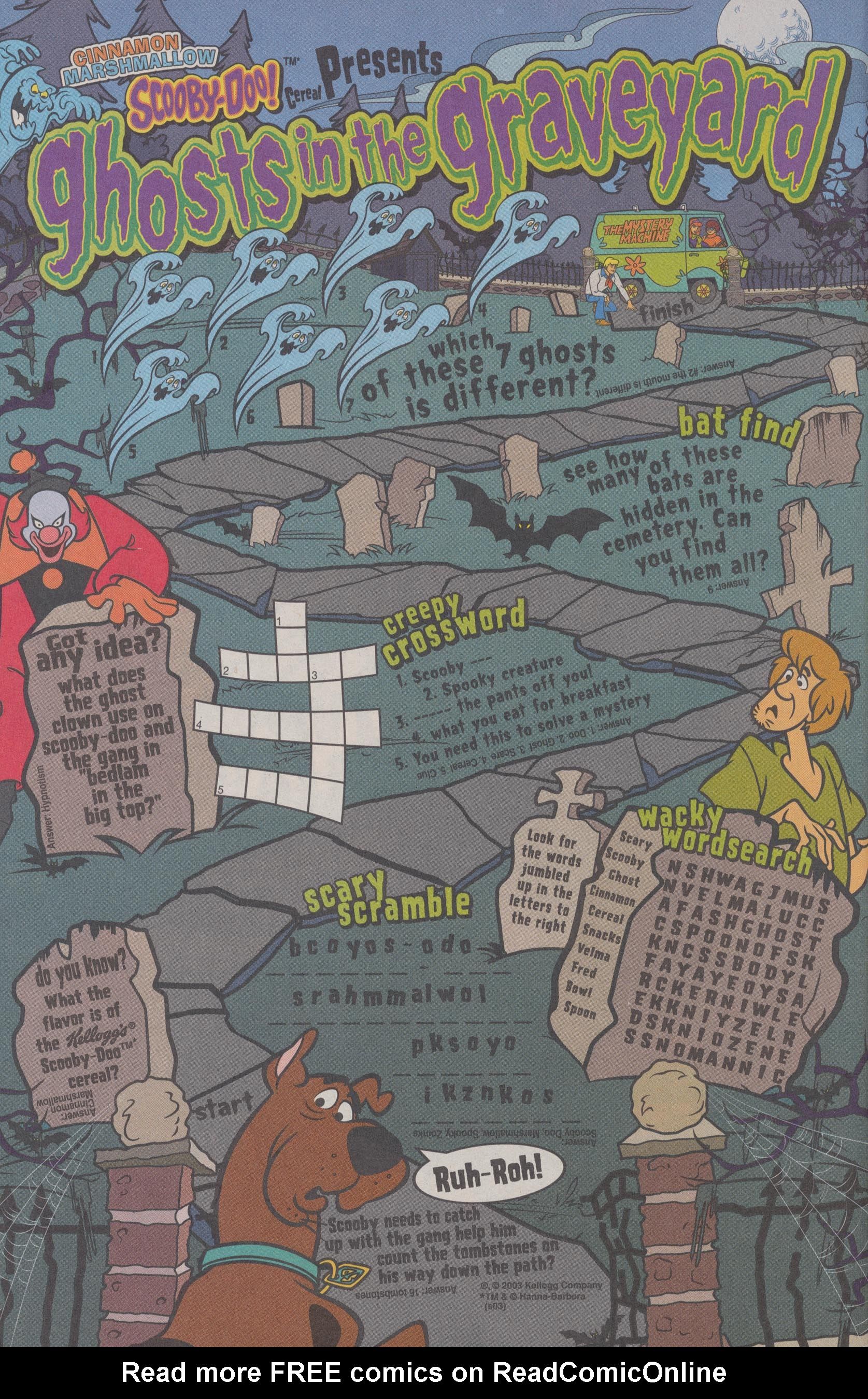 Read online Scooby-Doo (1997) comic -  Issue #72 - 19