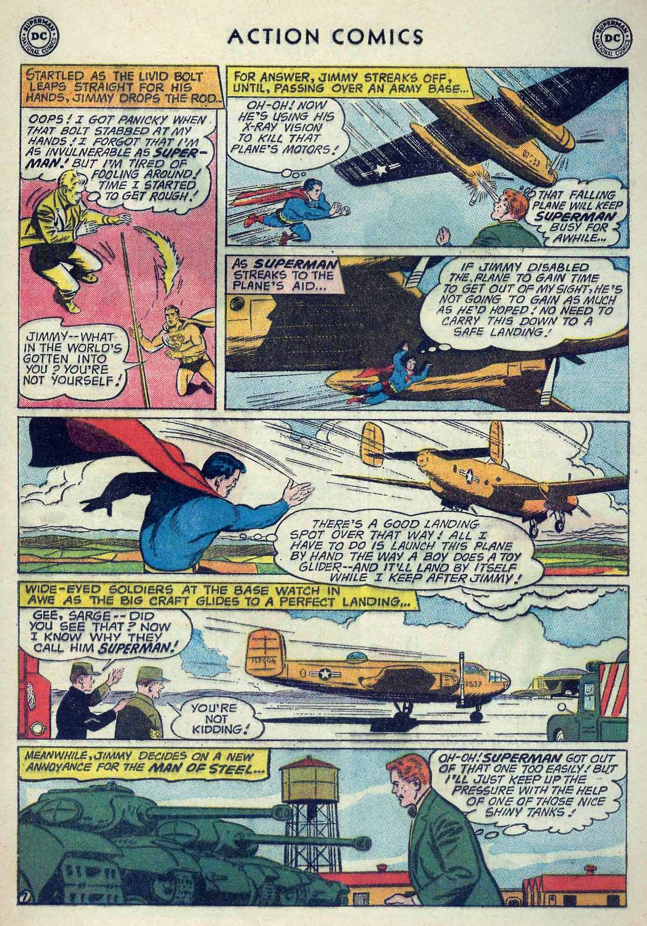 Read online Action Comics (1938) comic -  Issue #253 - 9