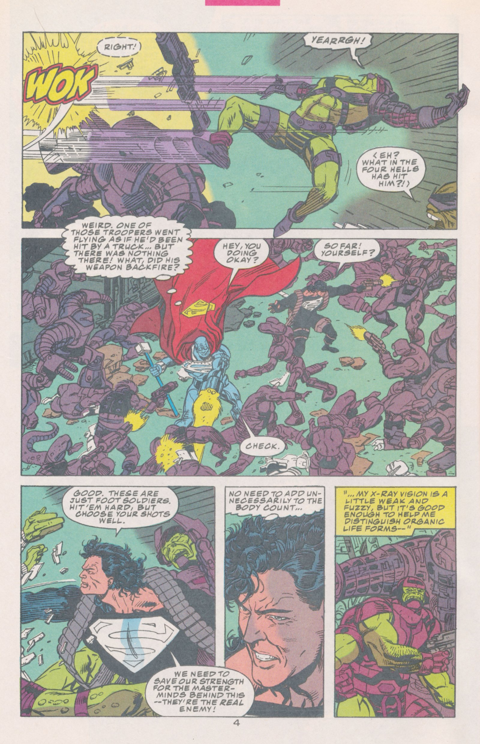 Read online Action Comics (1938) comic -  Issue #691 - 6