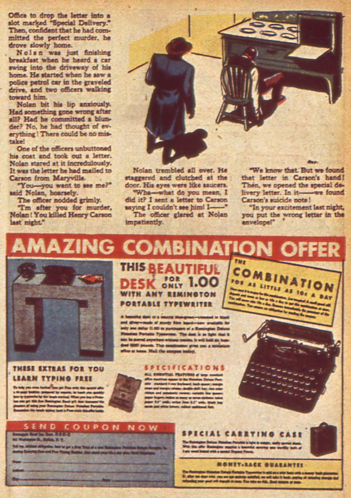 Read online Detective Comics (1937) comic -  Issue #49 - 51