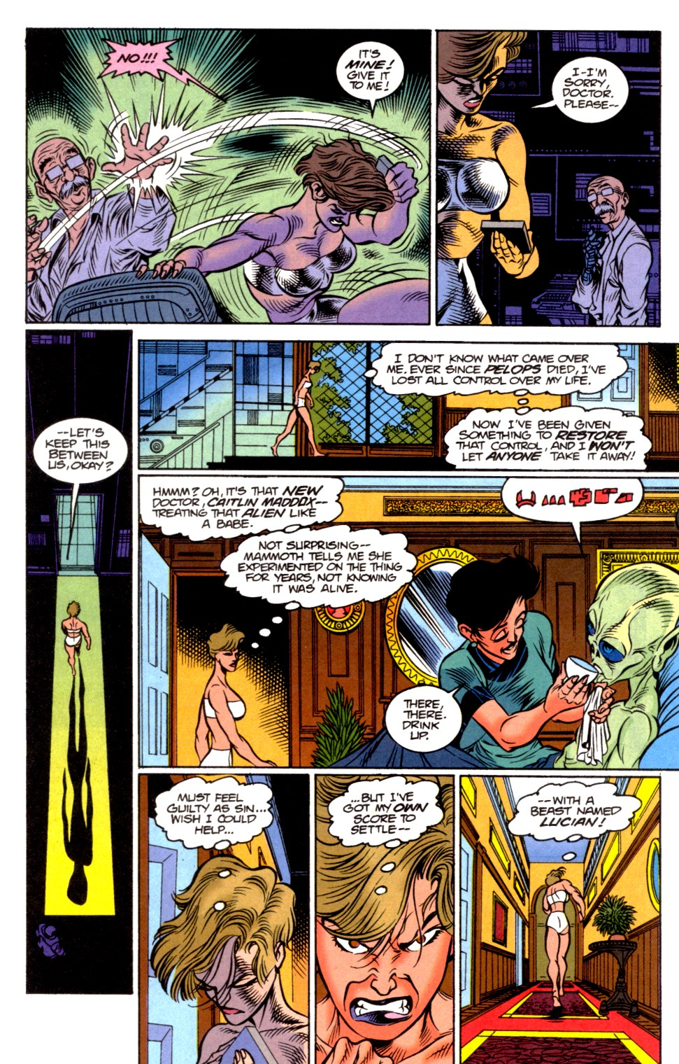 Read online Blackwulf comic -  Issue #6 - 7