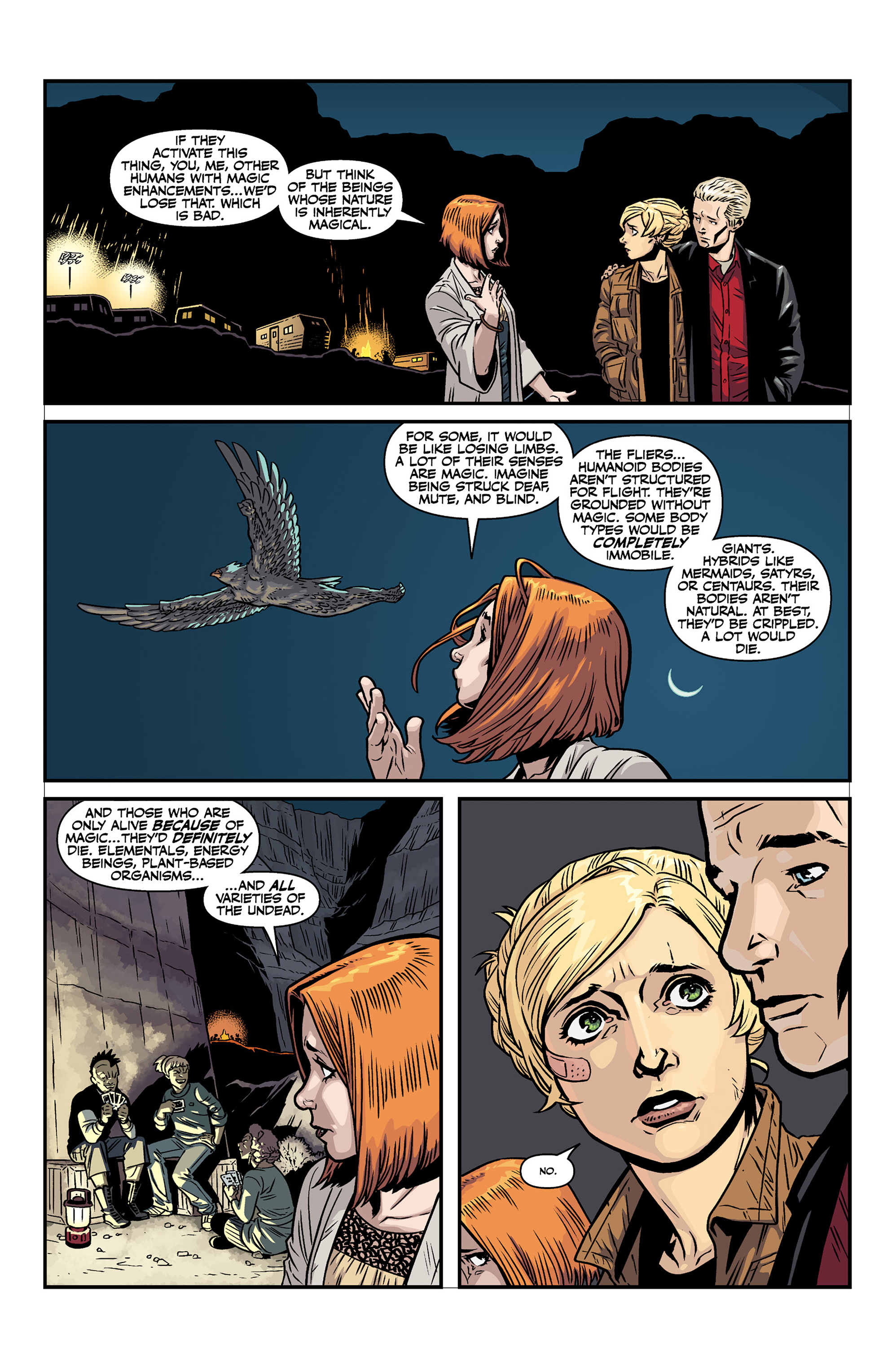 Read online Buffy the Vampire Slayer Season 11 comic -  Issue #6 - 23