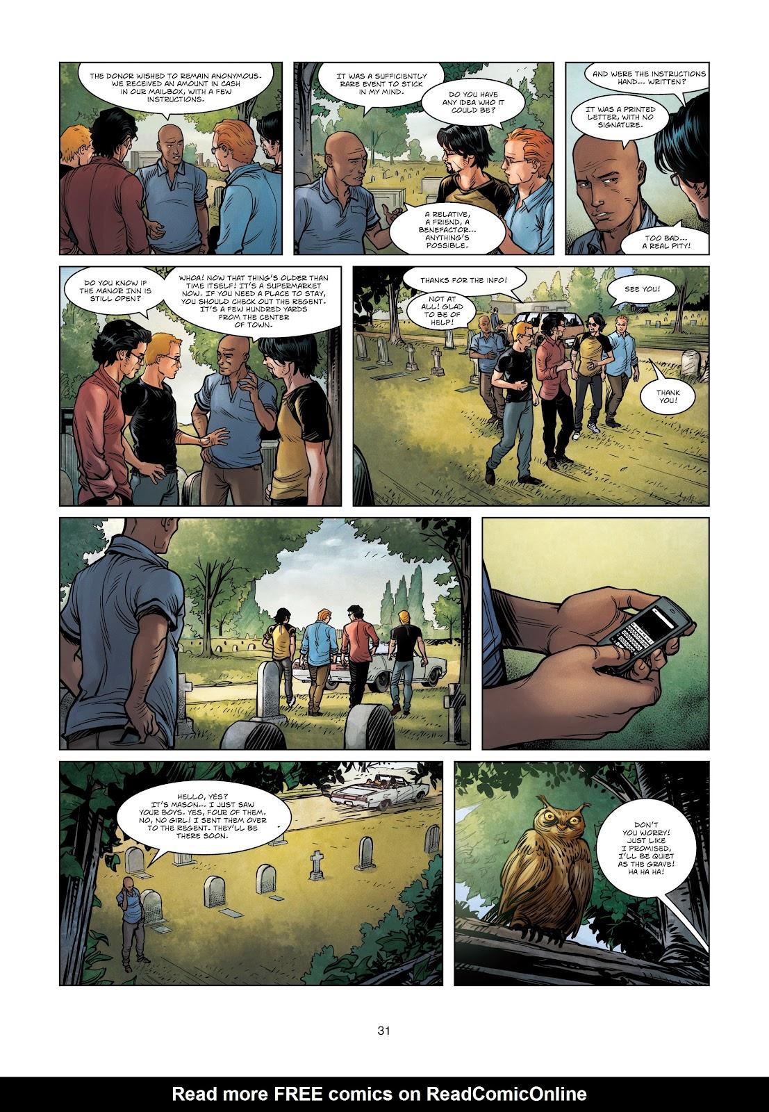 Read online Vigilantes comic -  Issue #3 - 31