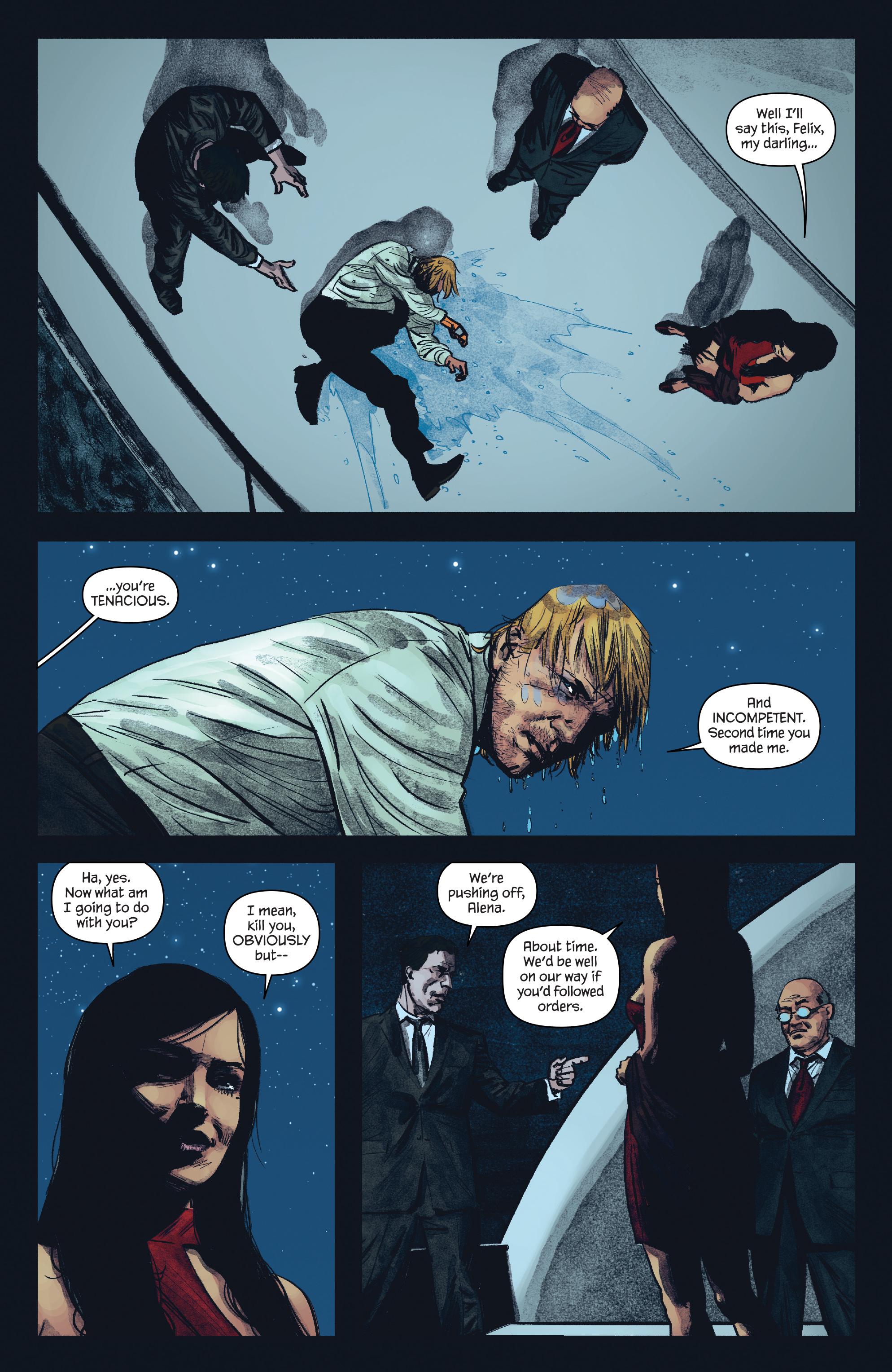 Read online James Bond: Felix Leiter comic -  Issue #5 - 17