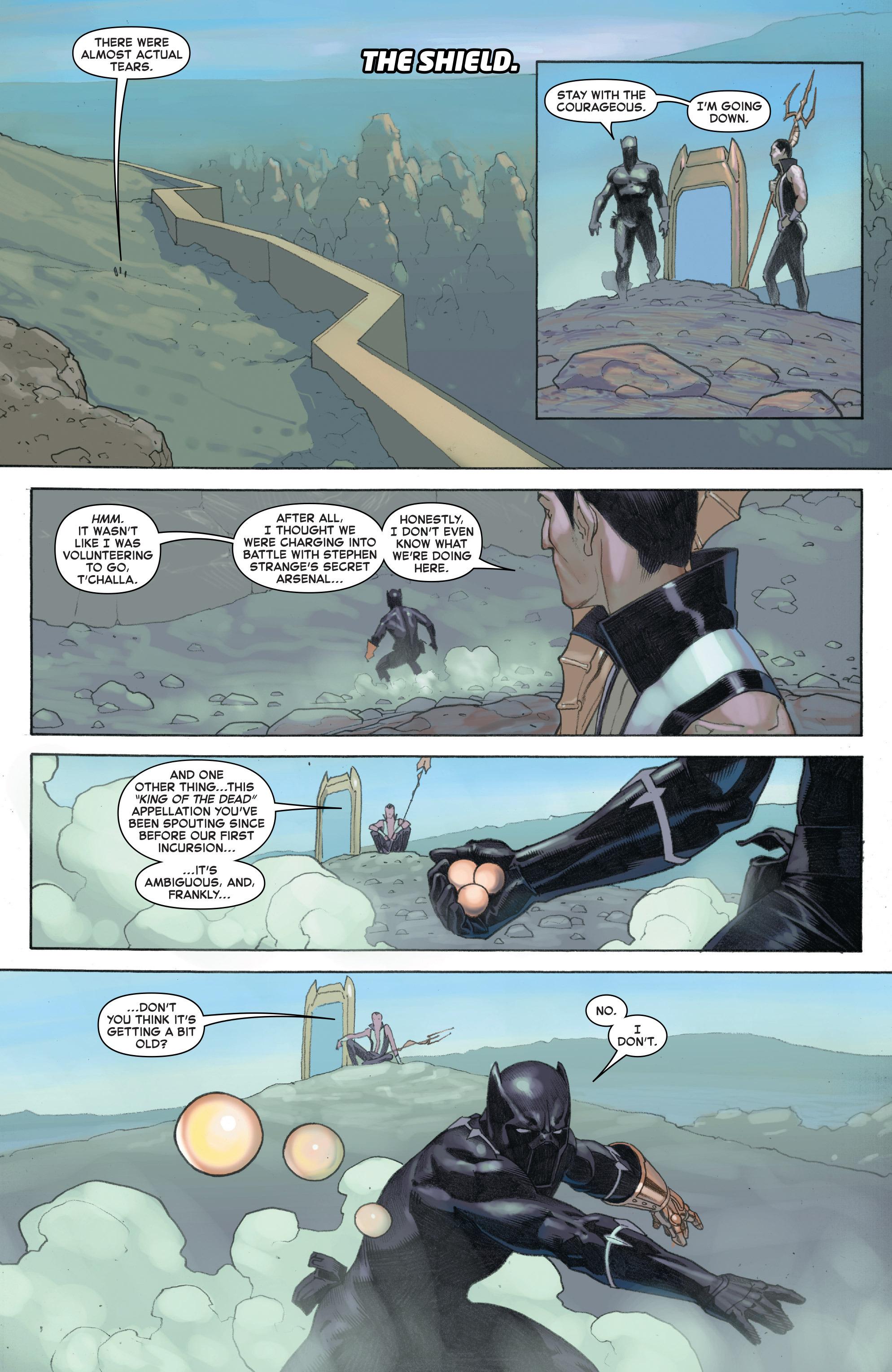 Read online Secret Wars comic -  Issue #7 - 20