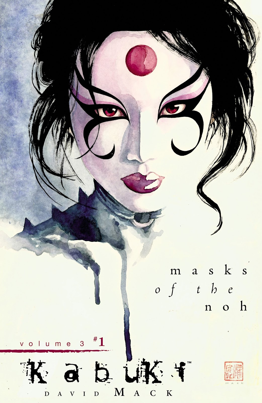 Kabuki: Masks of the Noh issue 1 - Page 1