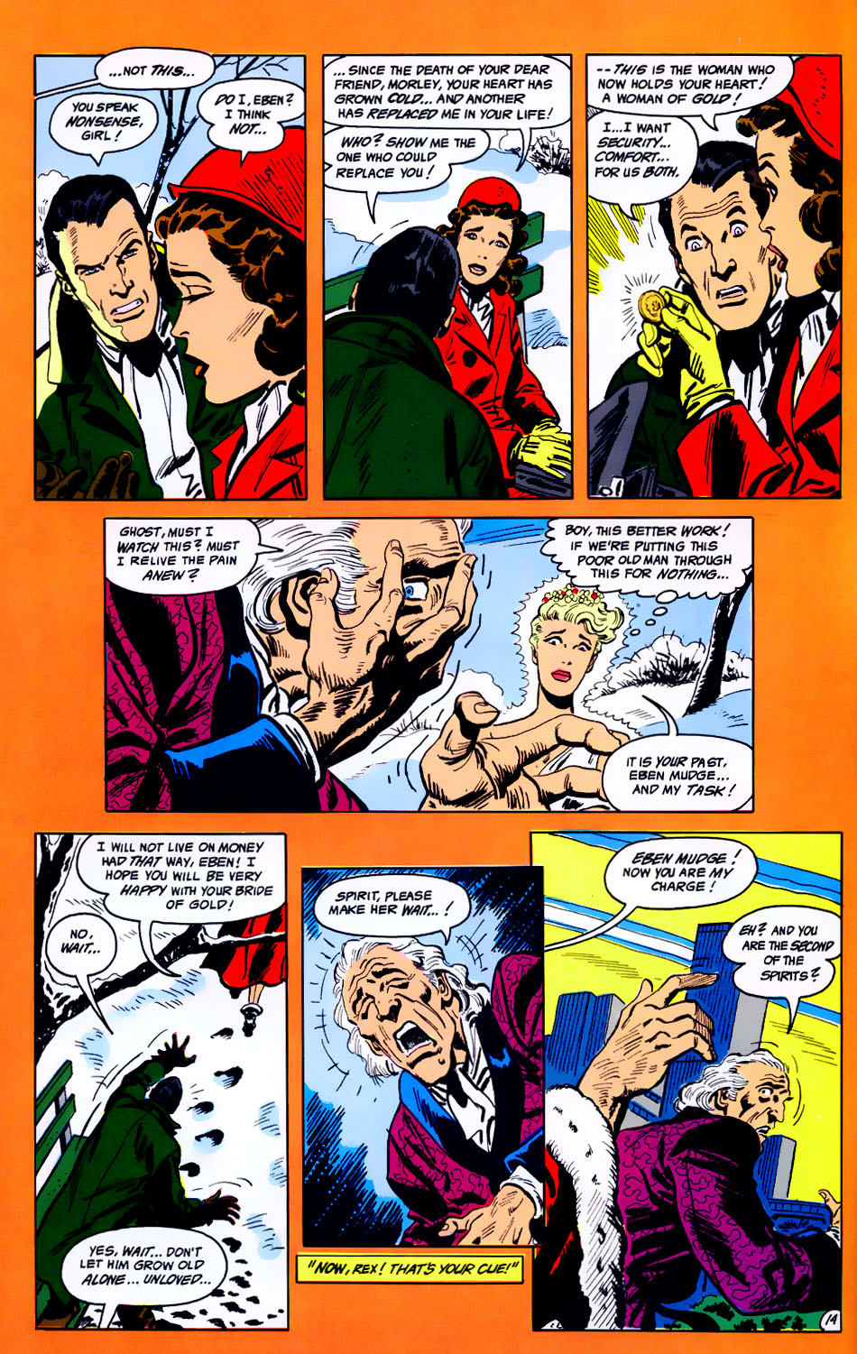 Read online Adventures of the Outsiders comic -  Issue #43 - 15