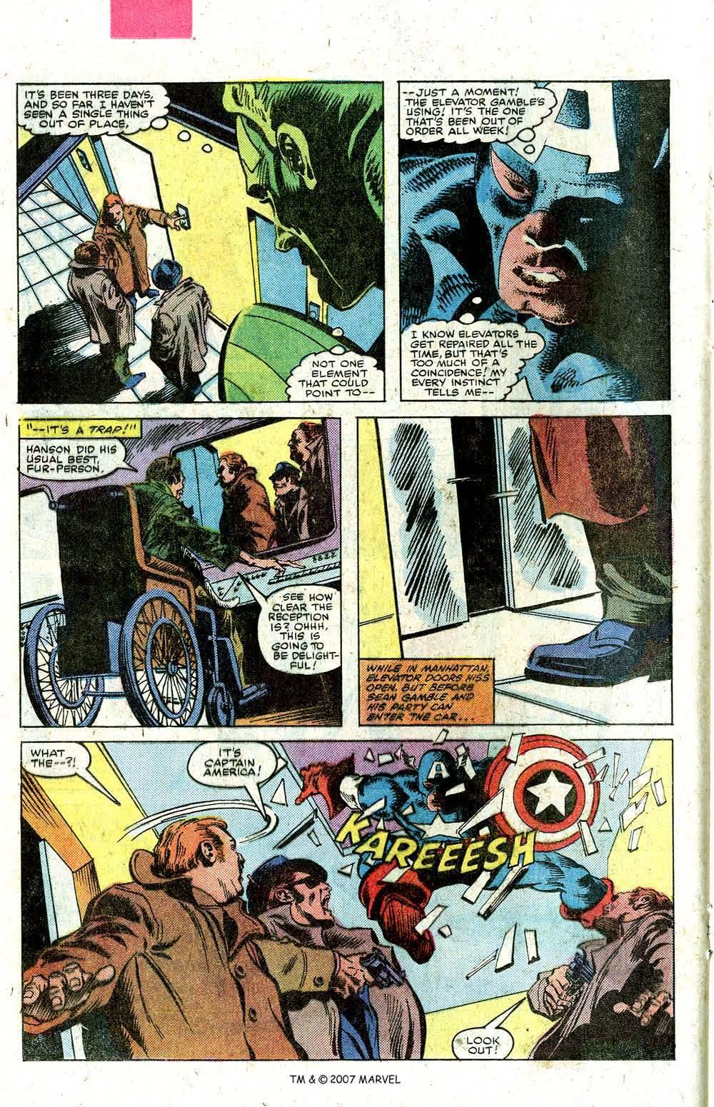 Read online Captain America (1968) comic -  Issue # _Annual 5 - 24