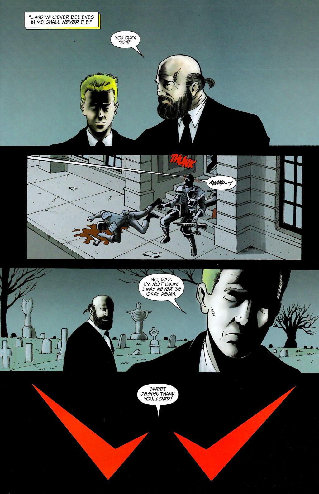 Read online ShadowHawk (2005) comic -  Issue #10 - 5