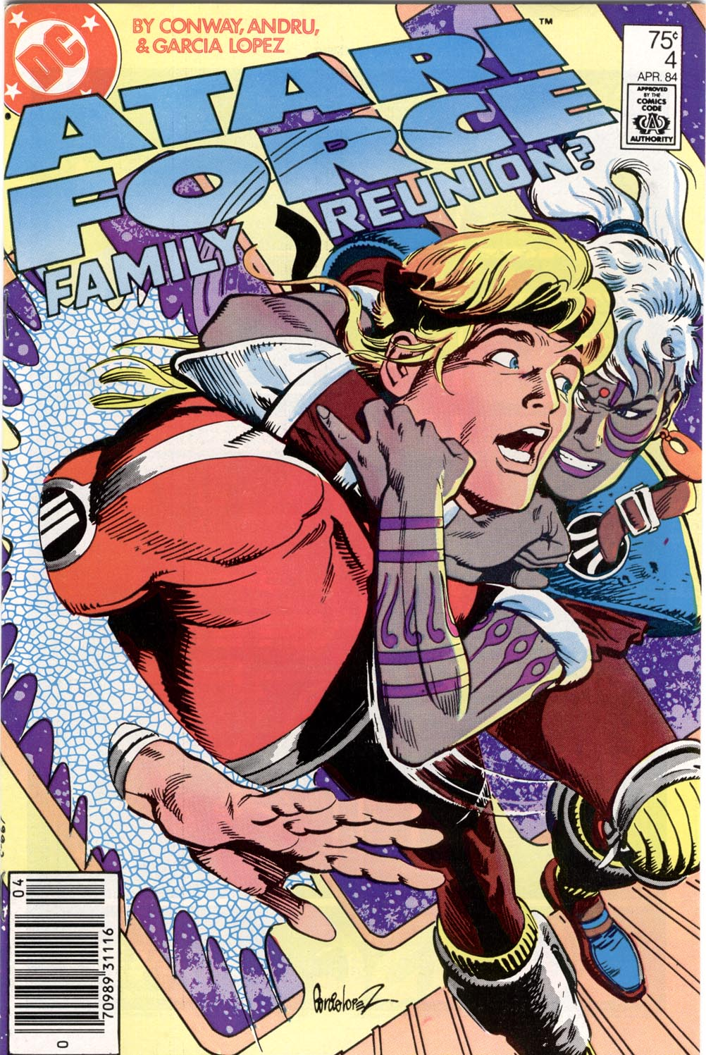 Read online Atari Force (1984) comic -  Issue #4 - 1