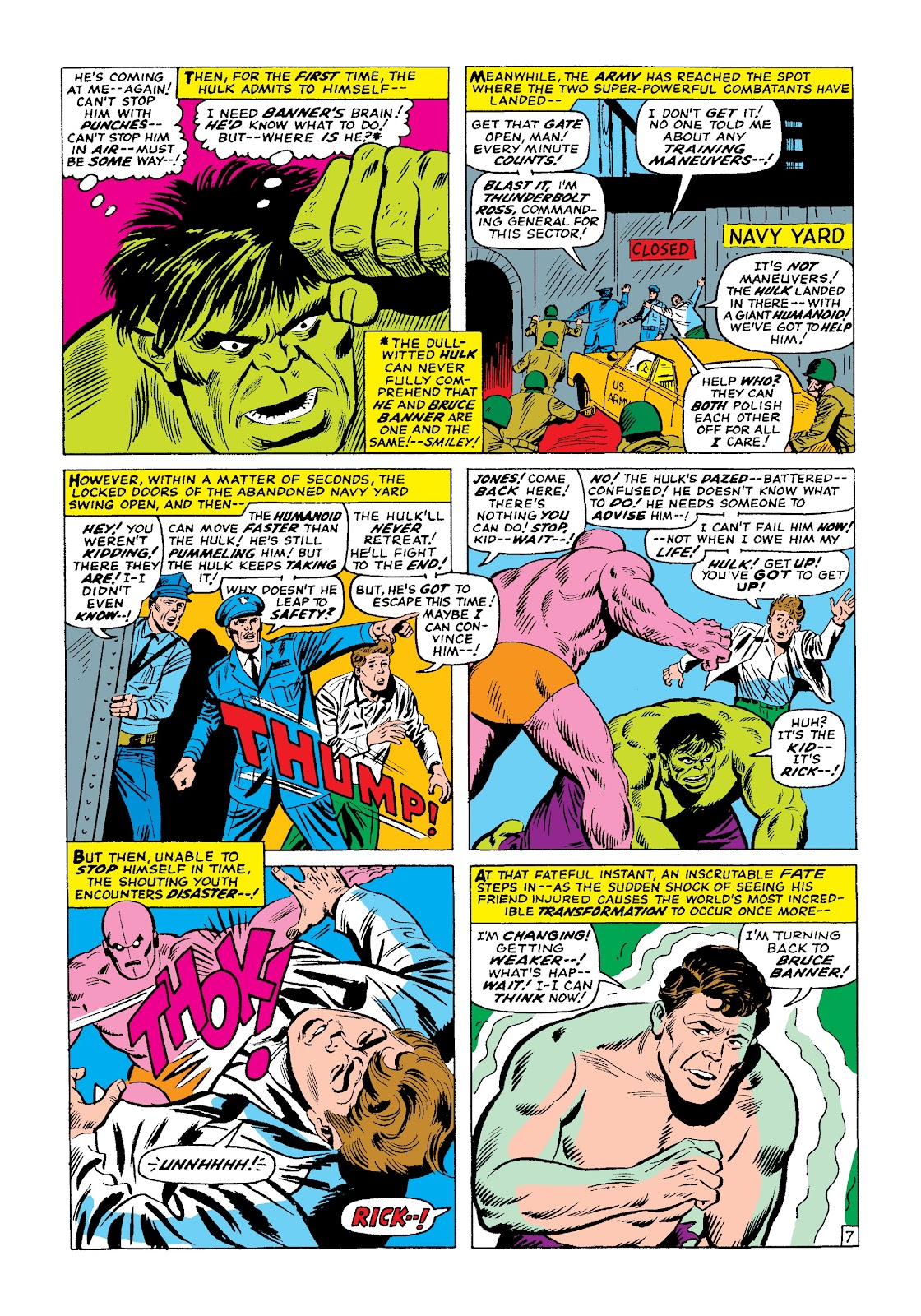 Read online Marvel Masterworks: The Incredible Hulk comic -  Issue # TPB 3 (Part 1) - 91