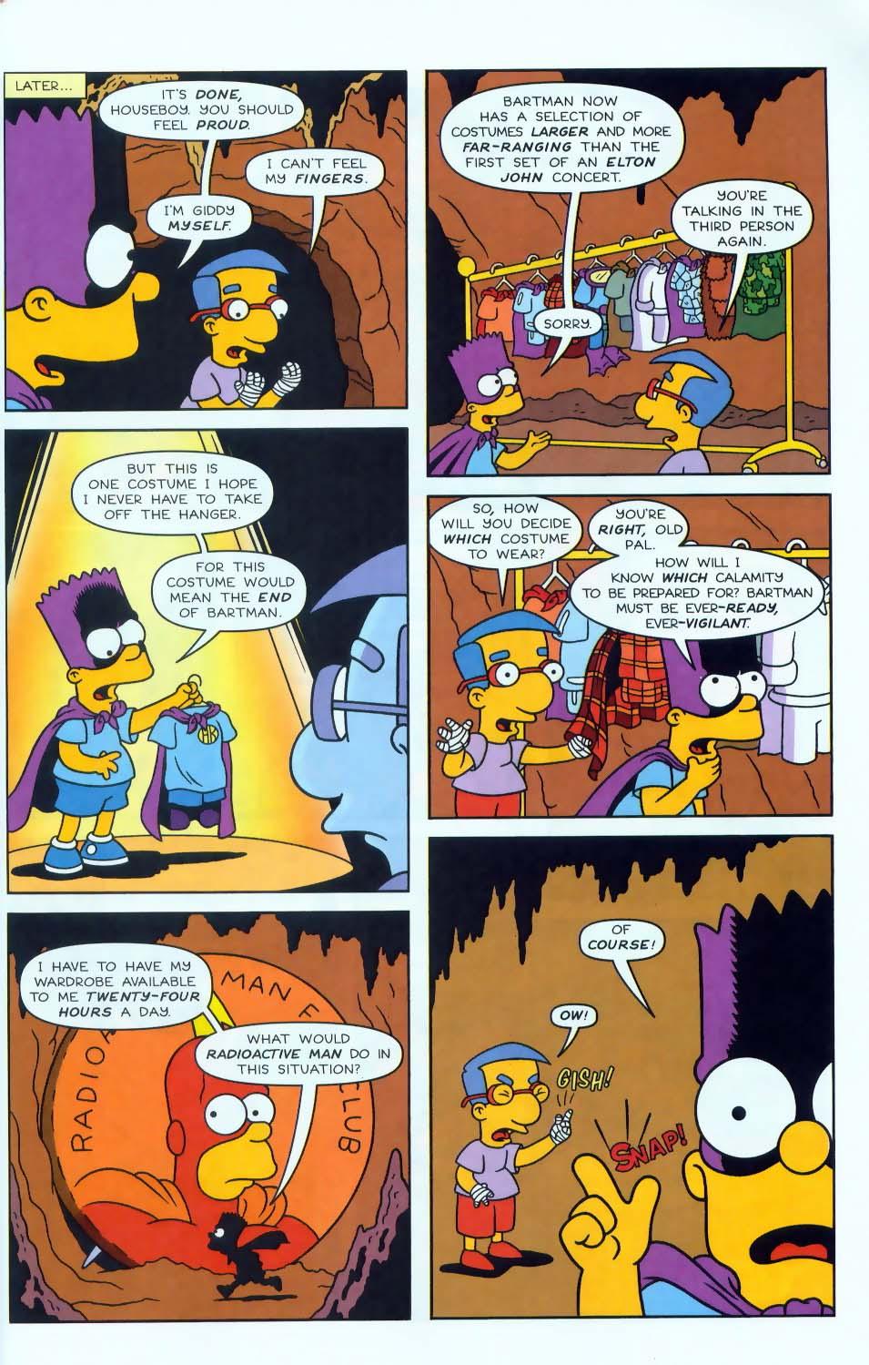 Read online Simpsons Comics comic -  Issue #50 - 32