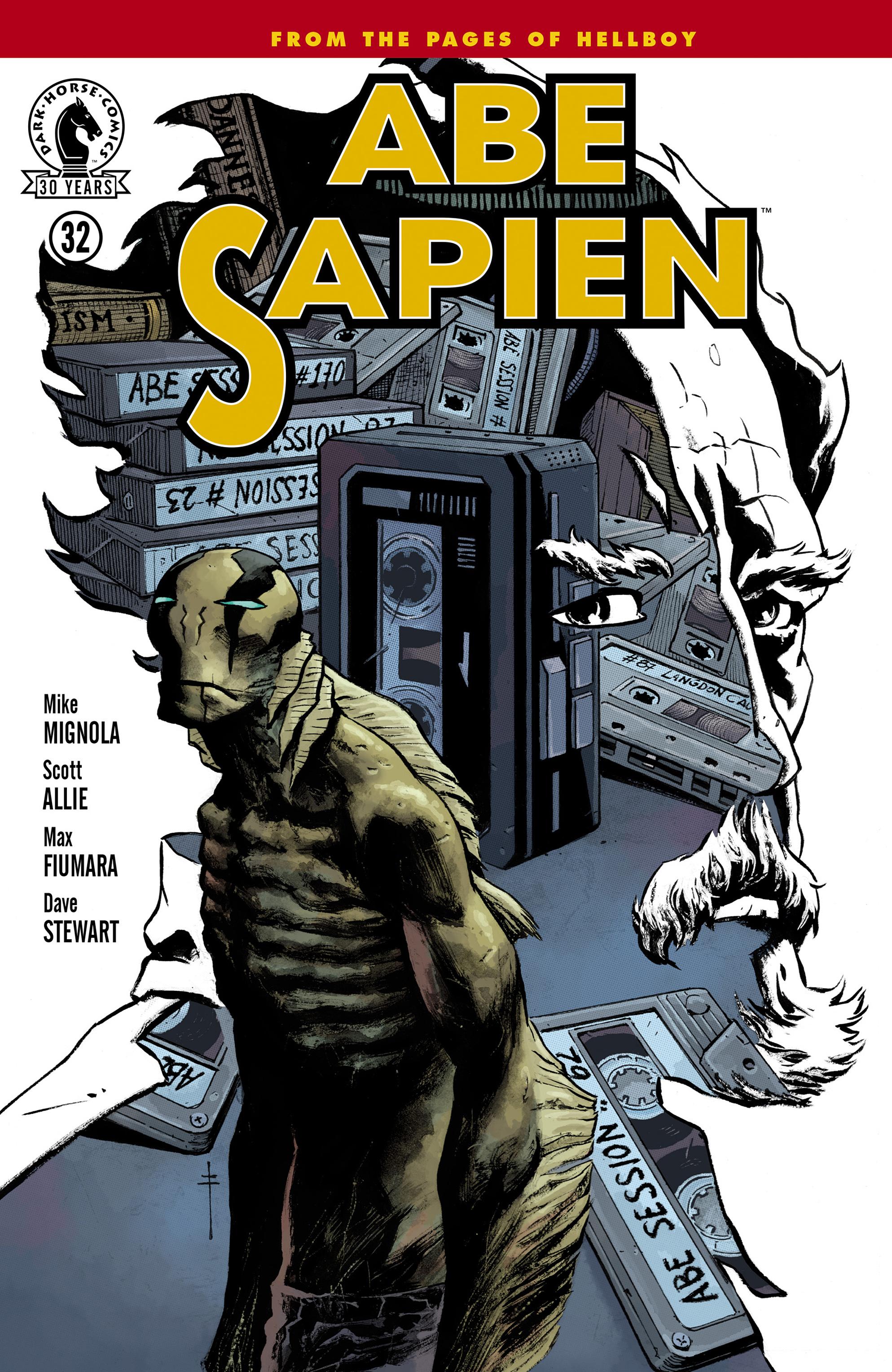 Read online Abe Sapien comic -  Issue #32 - 1