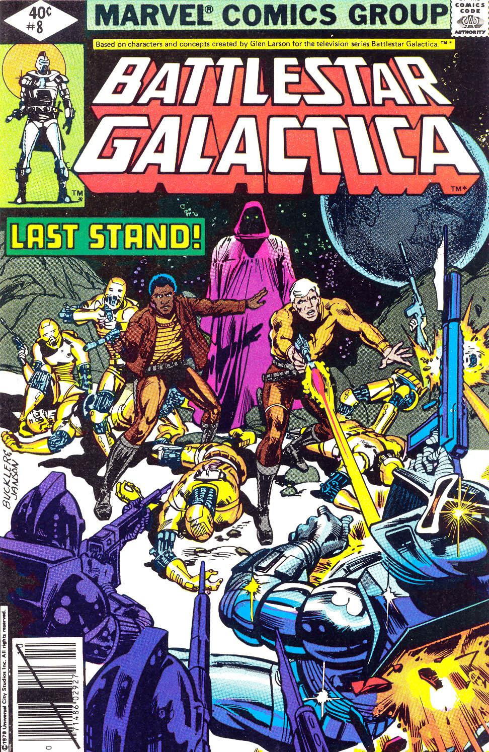 Battlestar Galactica 8 Page 1