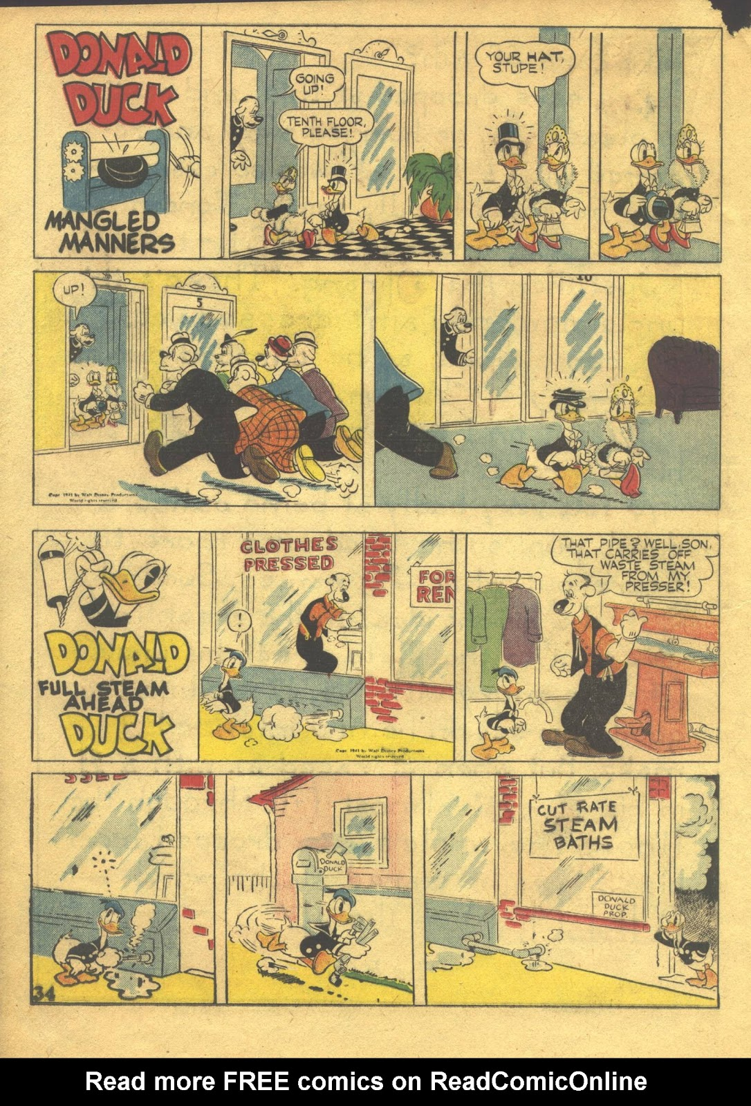 Walt Disney's Comics and Stories issue 39 - Page 36