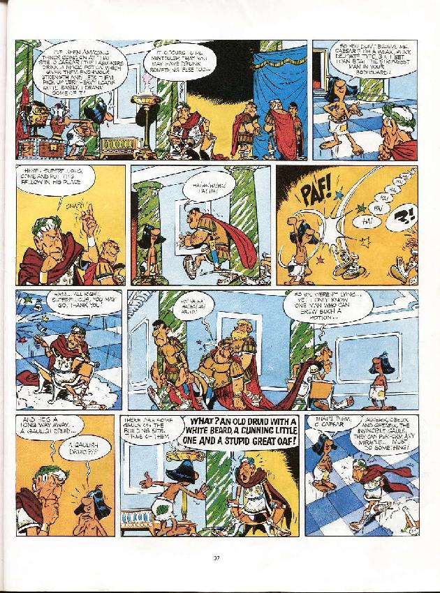 Read online Asterix comic -  Issue #6 - 34