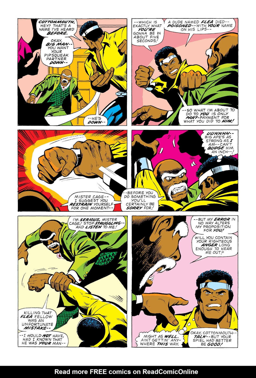 Read online Marvel Masterworks: Luke Cage, Power Man comic -  Issue # TPB 2 (Part 1) - 58