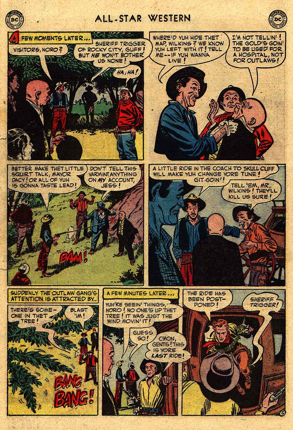 Read online All-Star Western (1951) comic -  Issue #62 - 26