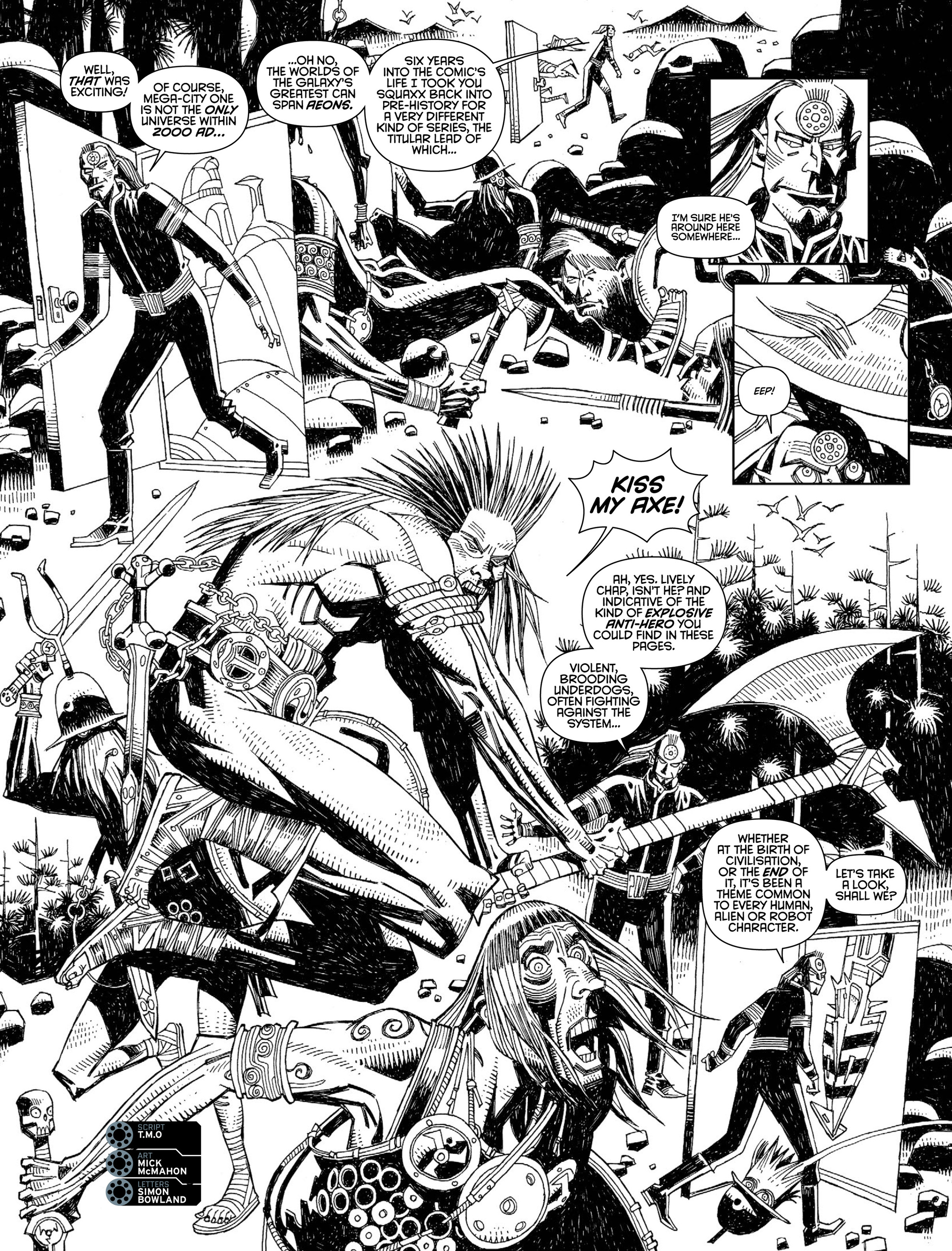 Read online 2000 AD comic -  Issue #2000 - 18
