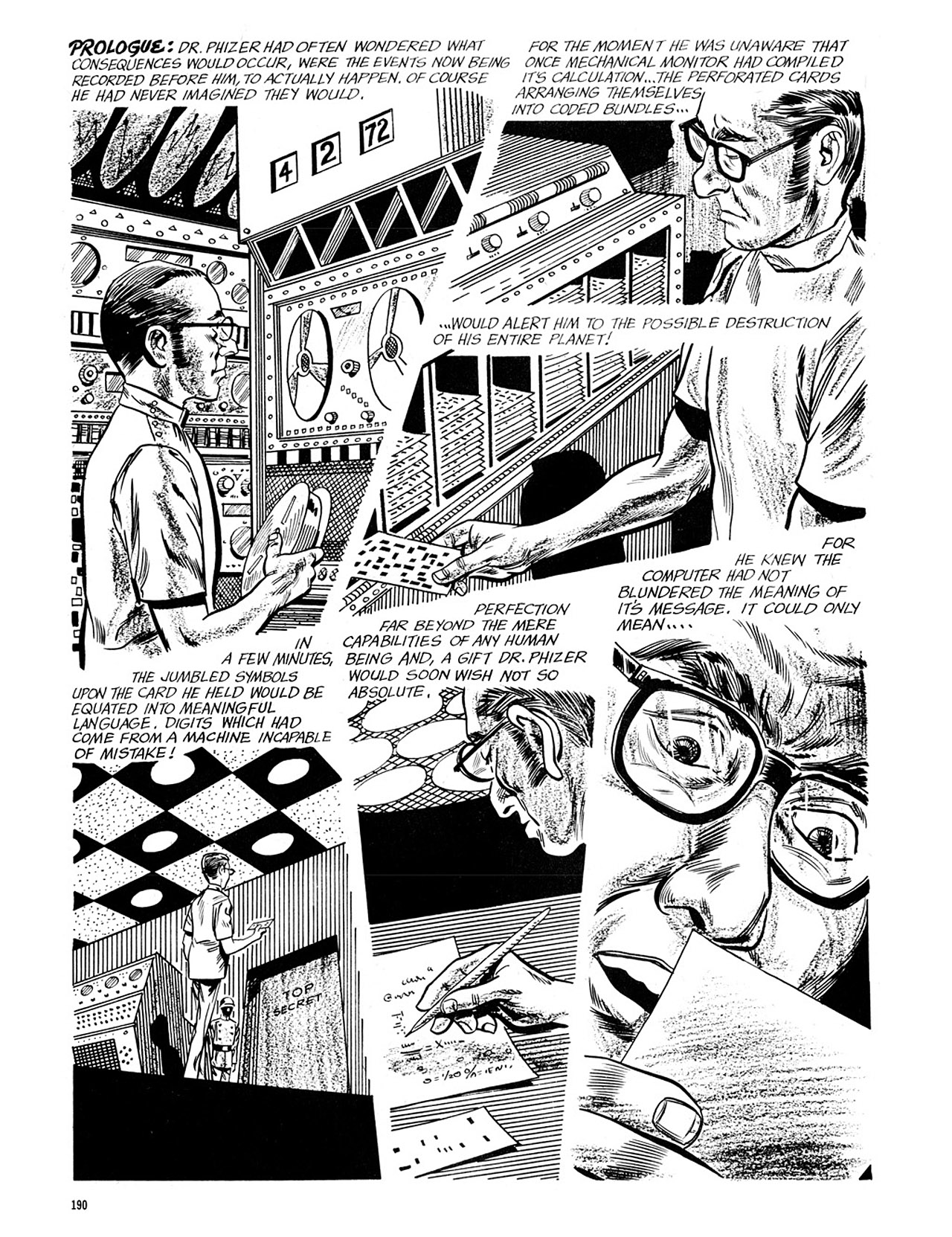 Read online Eerie Archives comic -  Issue # TPB 4 - 190