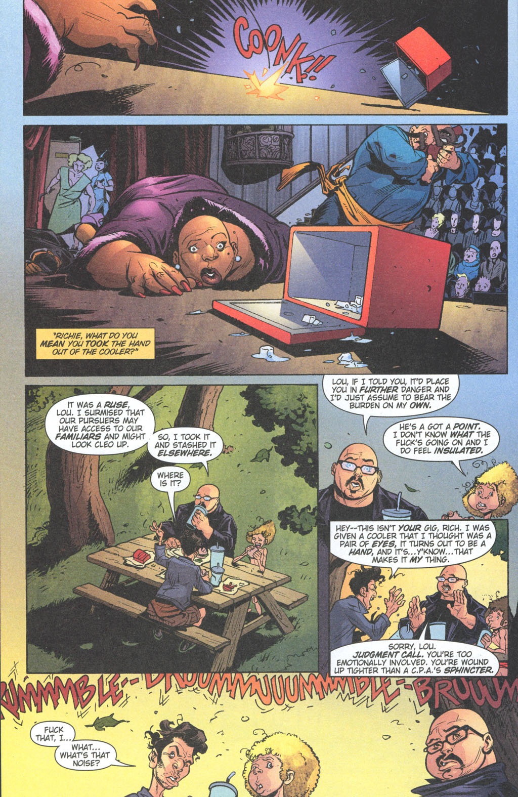 Read online Caper comic -  Issue #11 - 11