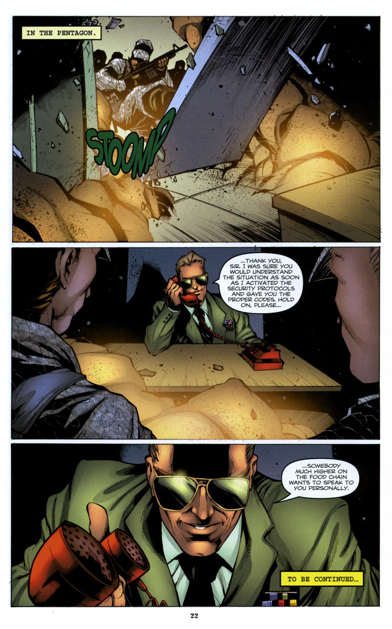G.I. Joe: A Real American Hero 158 Page 23