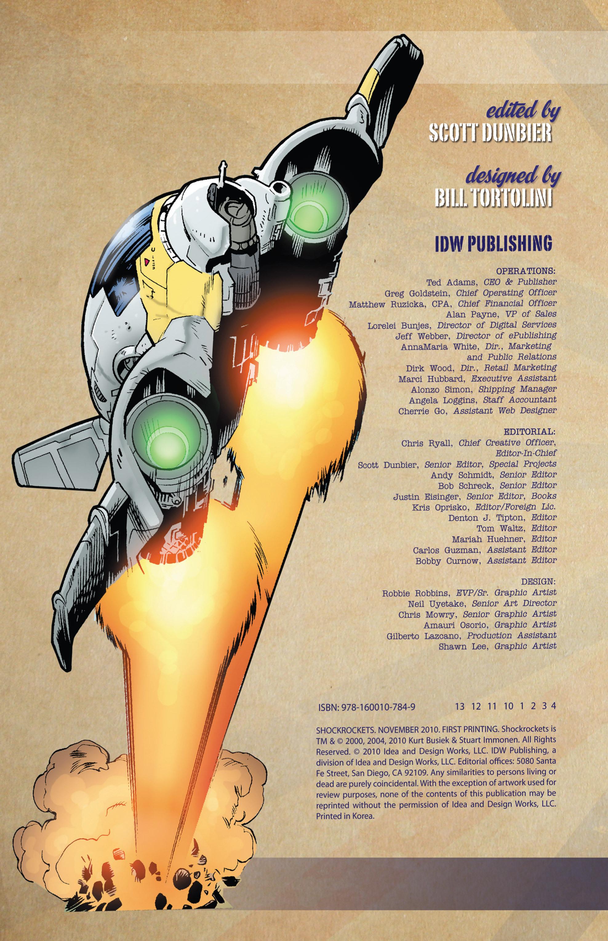 Read online Shockrockets comic -  Issue # TPB - 4