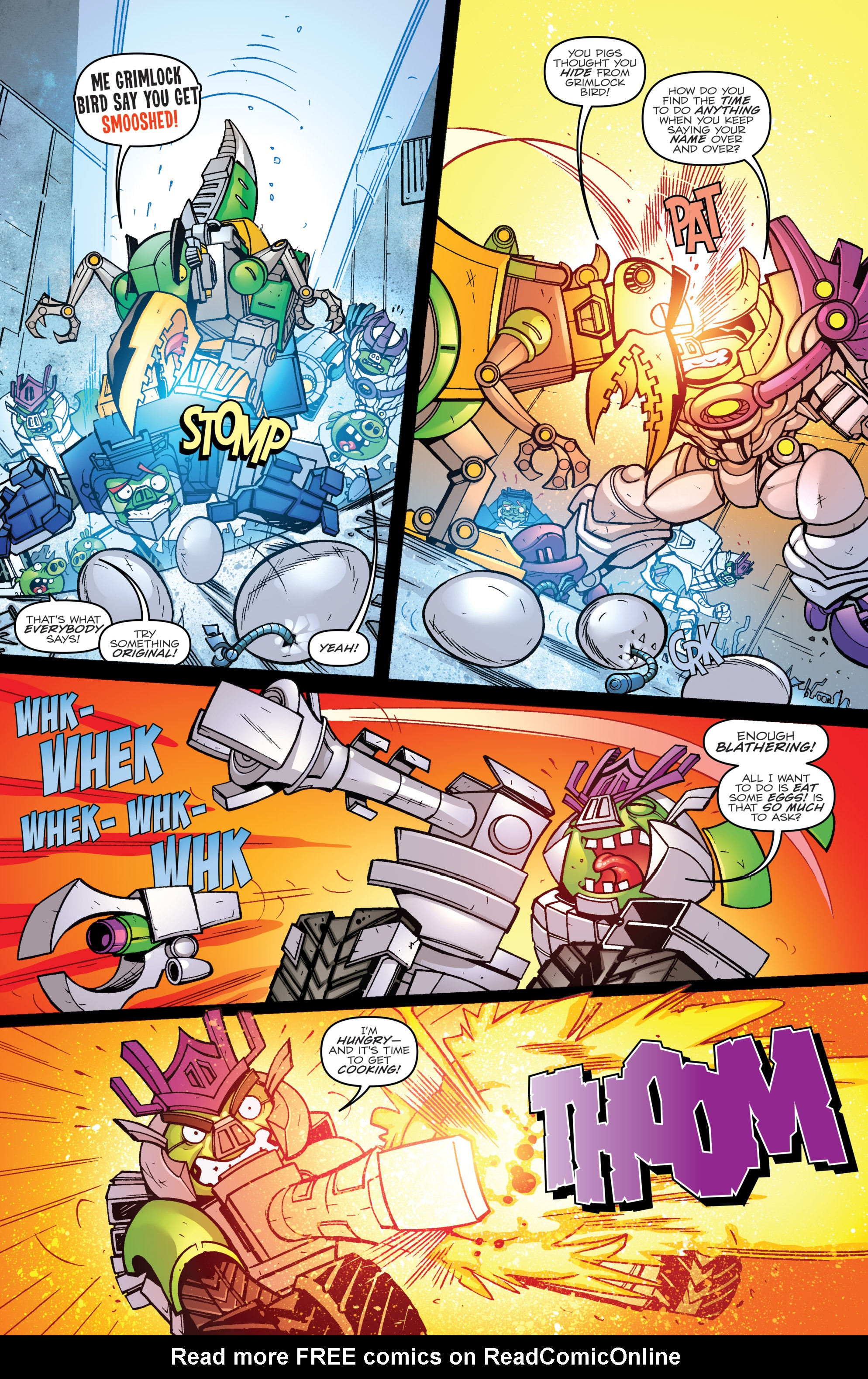 Read online Angry Birds Transformers comic -  Issue #2 - 14