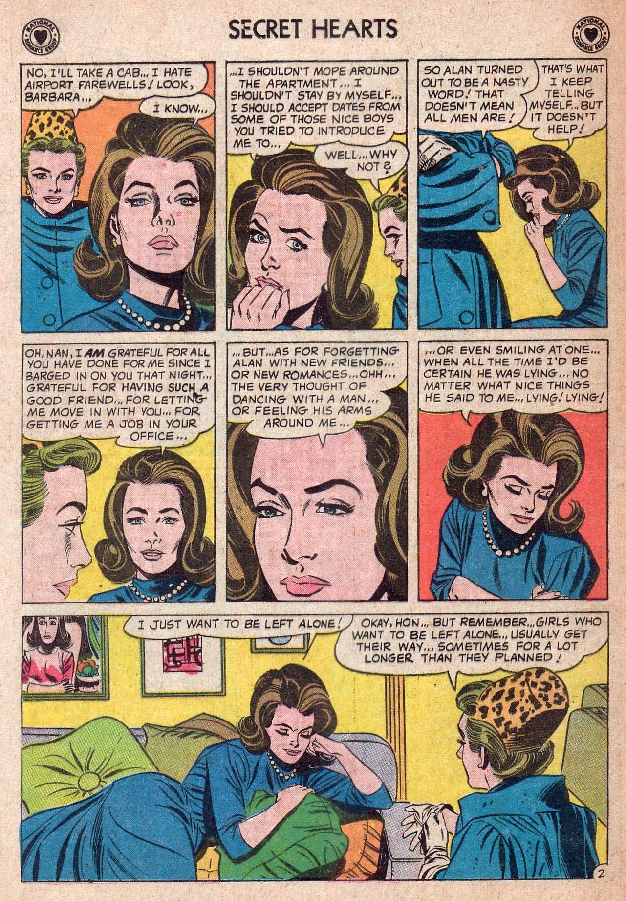 Read online Secret Hearts comic -  Issue #73 - 4