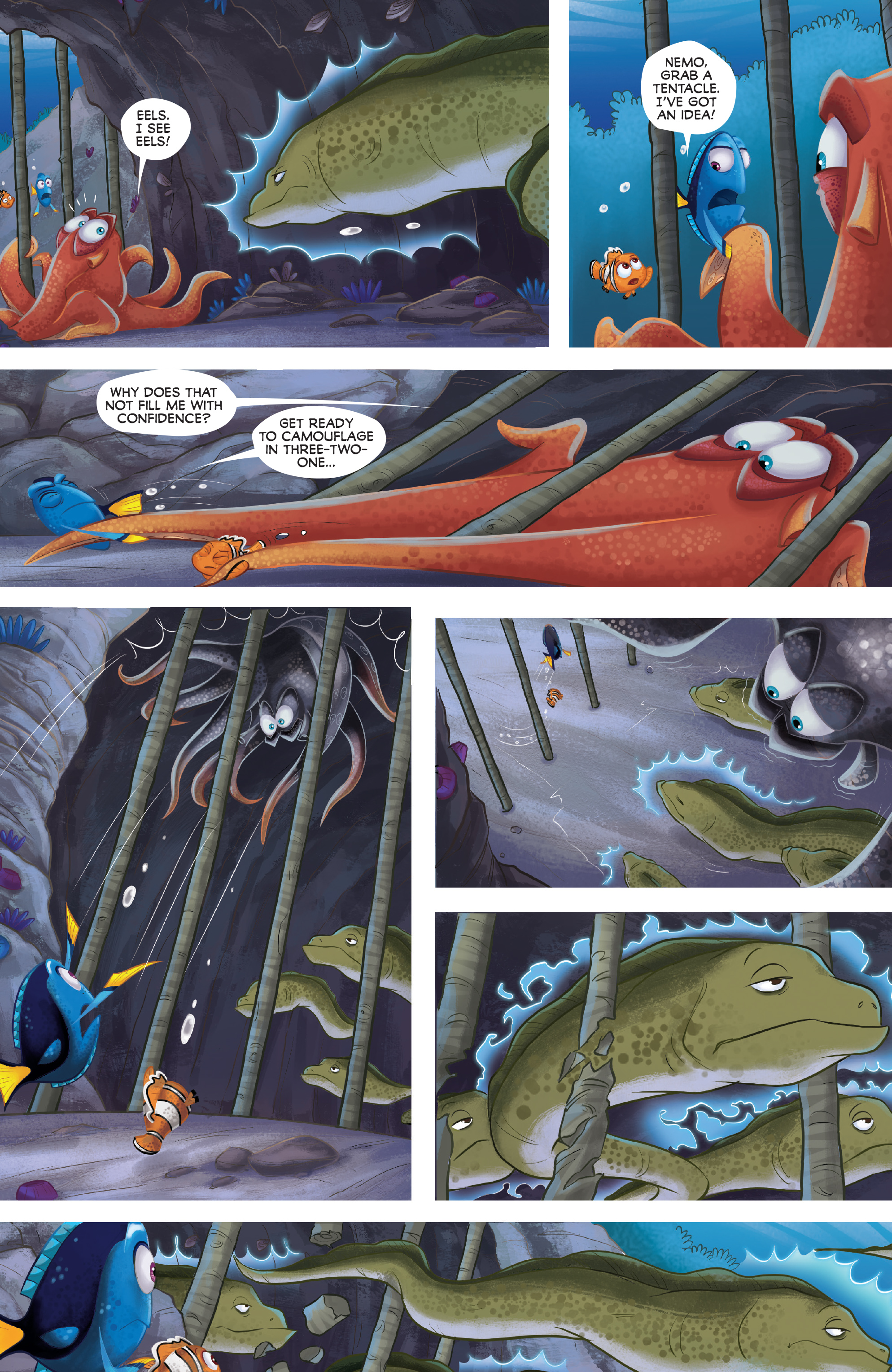 Read online Disney Pixar Finding Dory comic -  Issue #4 - 21