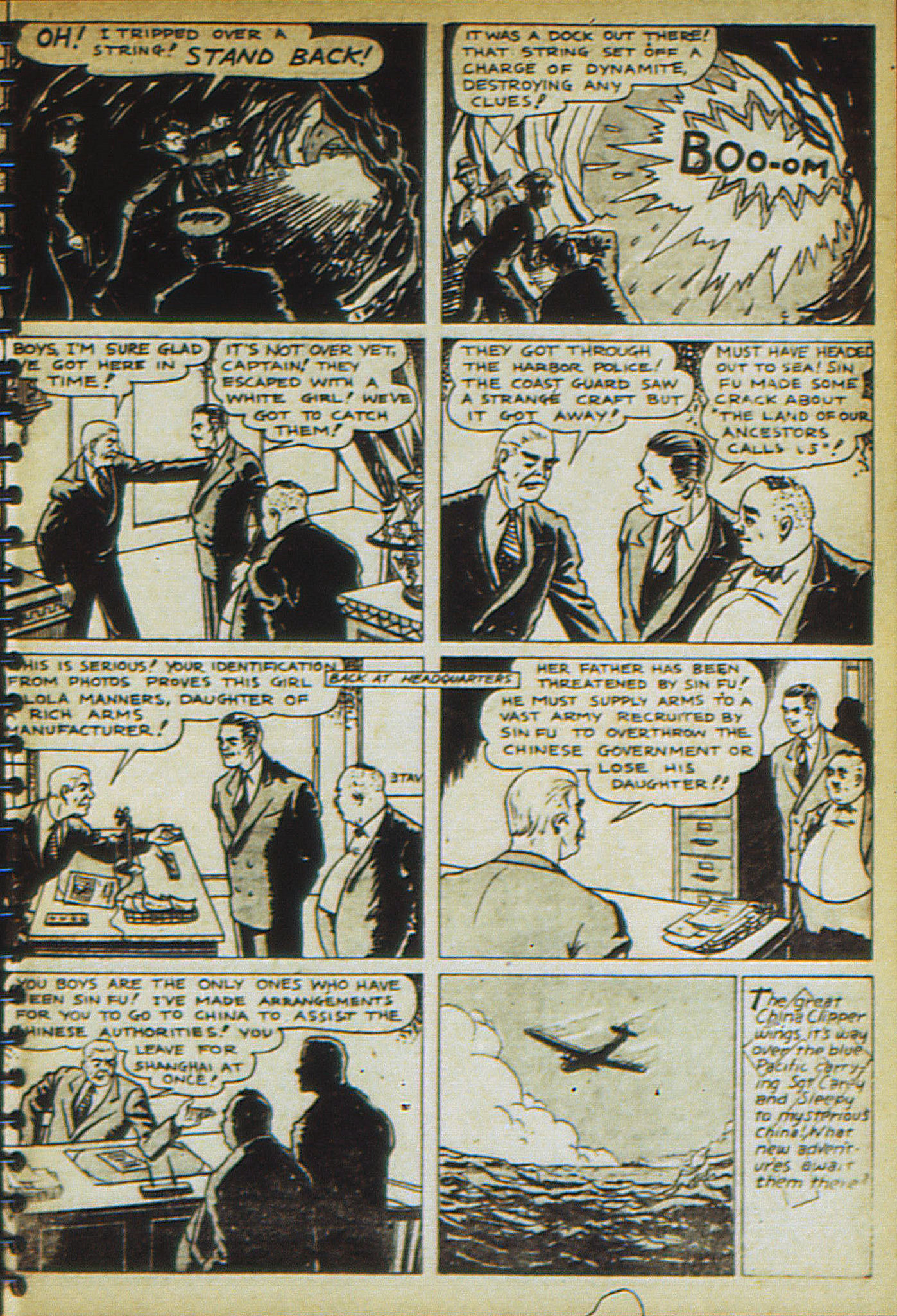 Read online Adventure Comics (1938) comic -  Issue #23 - 57
