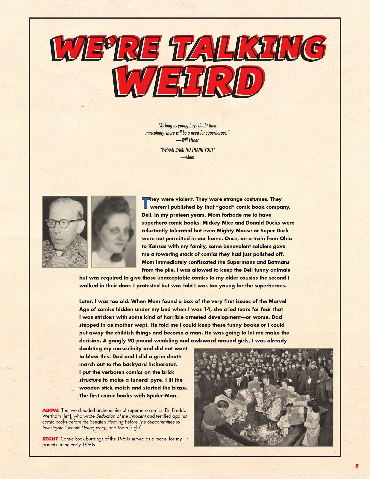 Read online Super Weird Heroes comic -  Issue # TPB 1 (Part 1) - 6