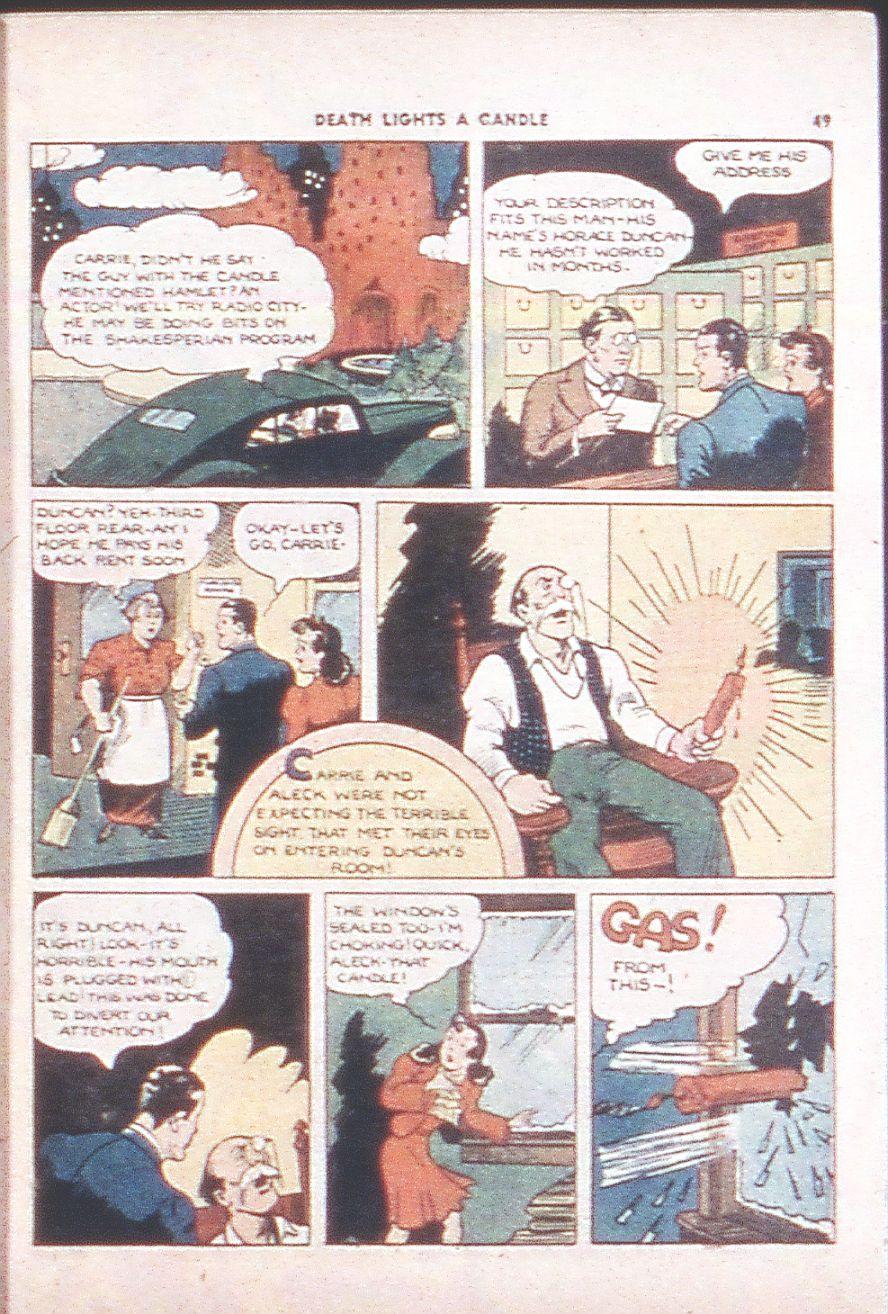 Read online Shadow Comics comic -  Issue #6 - 51